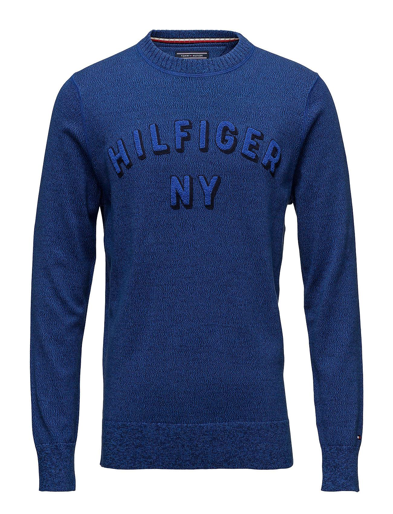 Tommy Hilfiger Structured Mouline Graphic Sweater