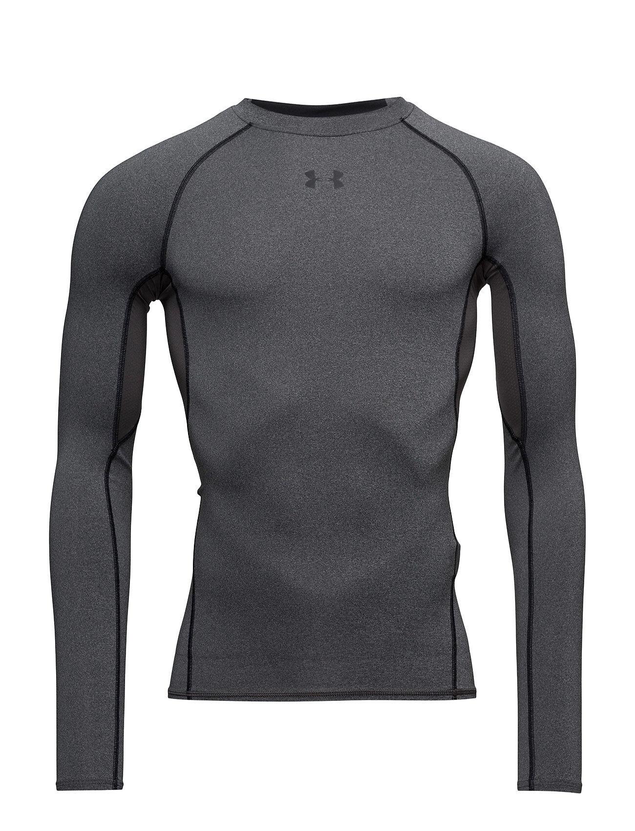 Under Armour Ua Hg Armour Ls T-shirts Long-sleeved Harmaa Under Armour