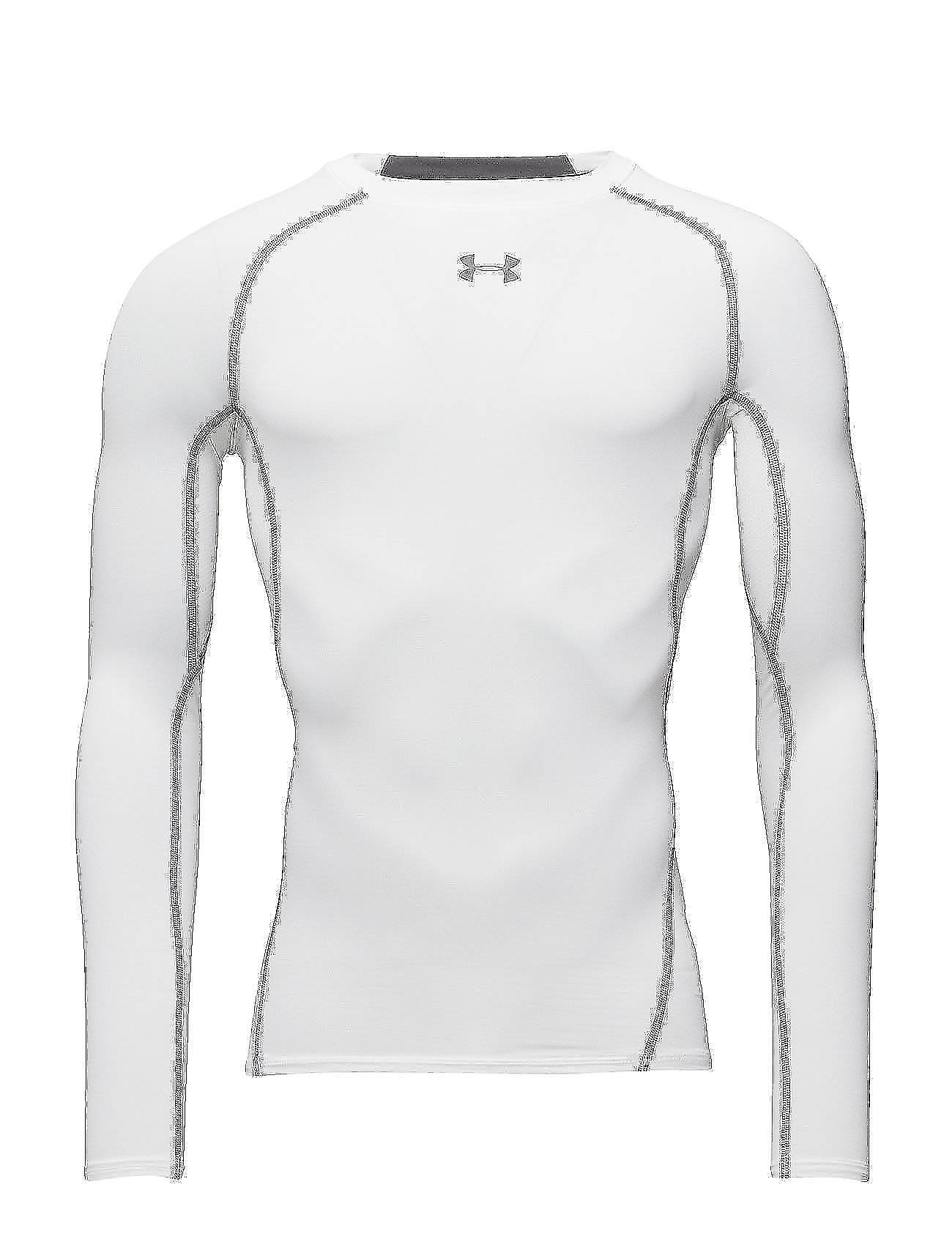 Under Armour Ua Hg Armour Ls T-shirts Long-sleeved Valkoinen Under Armour