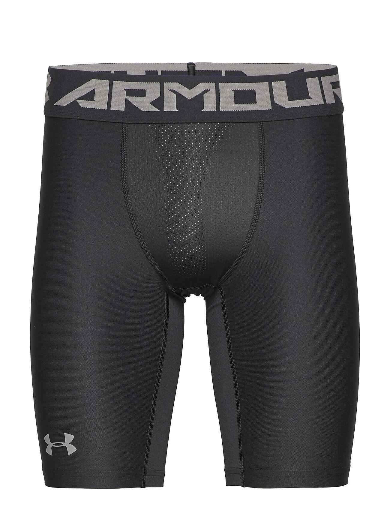 Under Armour Hg Armour 2.0 Long Short Shorts Sport Shorts Musta Under Armour