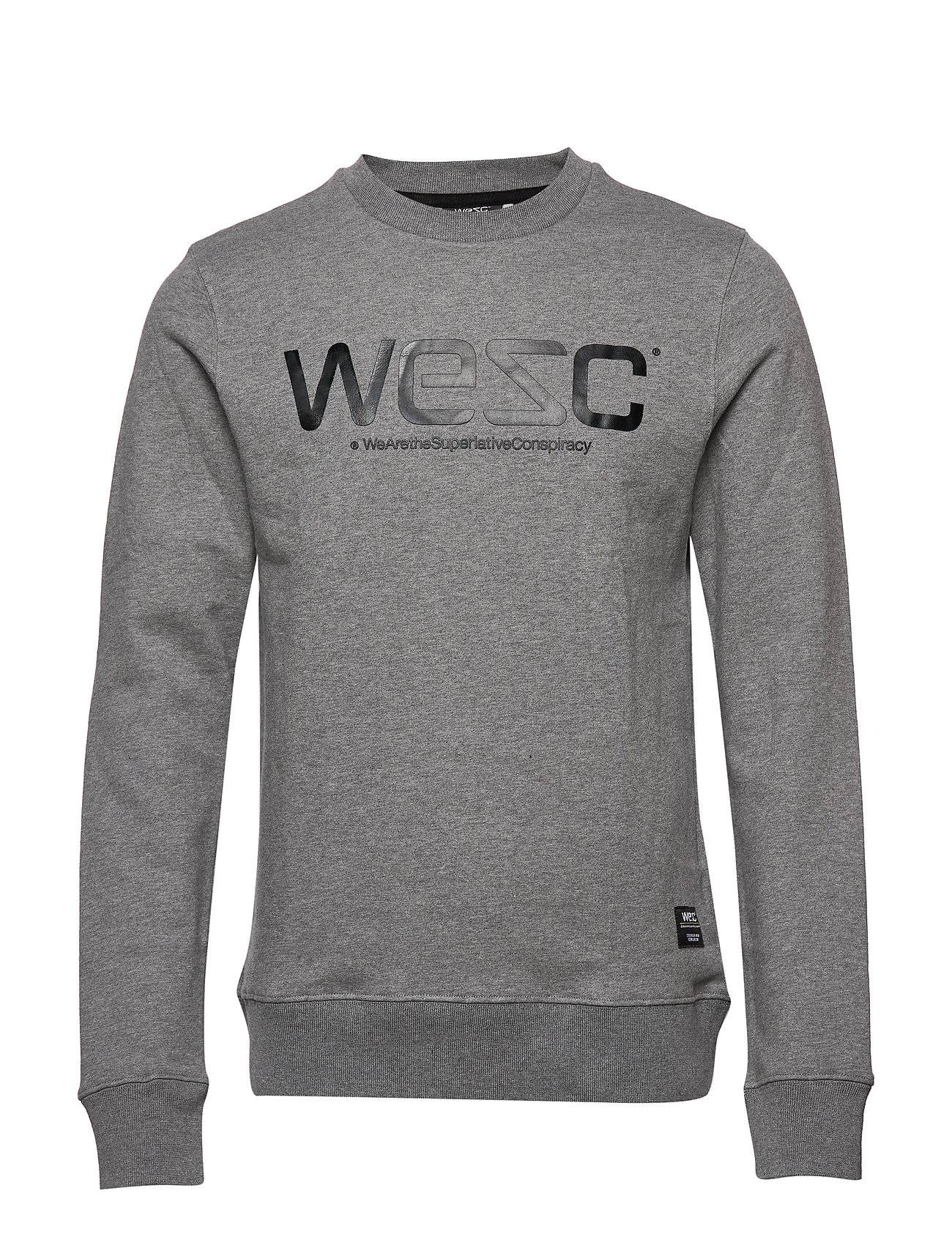 Wesc Sweatshirt Svetari Collegepaita Harmaa WeSC