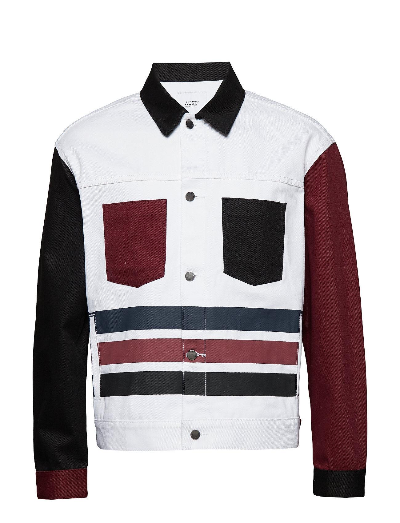WeSC Calypso Denim Jacket Farkkutakki Denimtakki Monivärinen/Kuvioitu WeSC