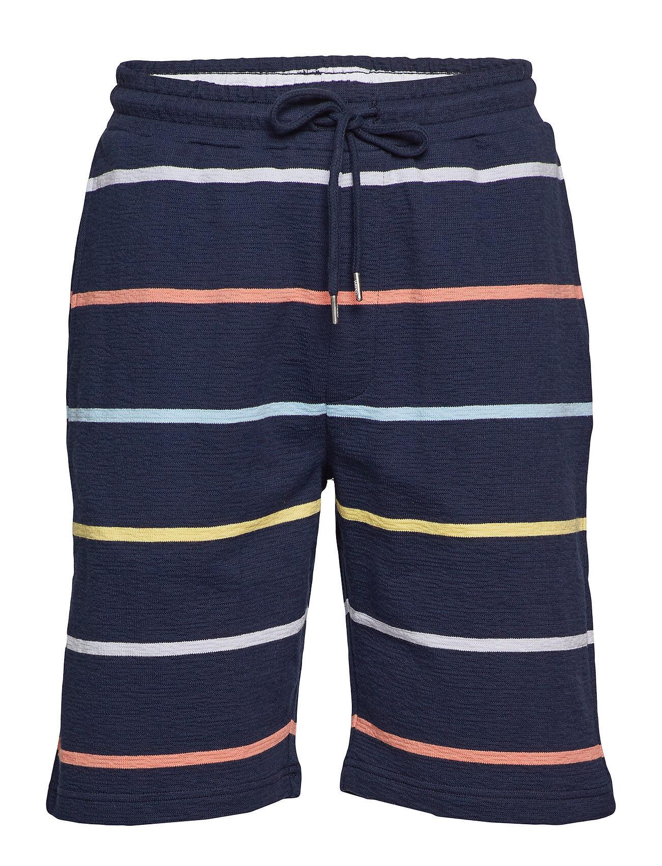 WeSC Marty Yarn Dye Stripe Shorts Casual Sininen WeSC