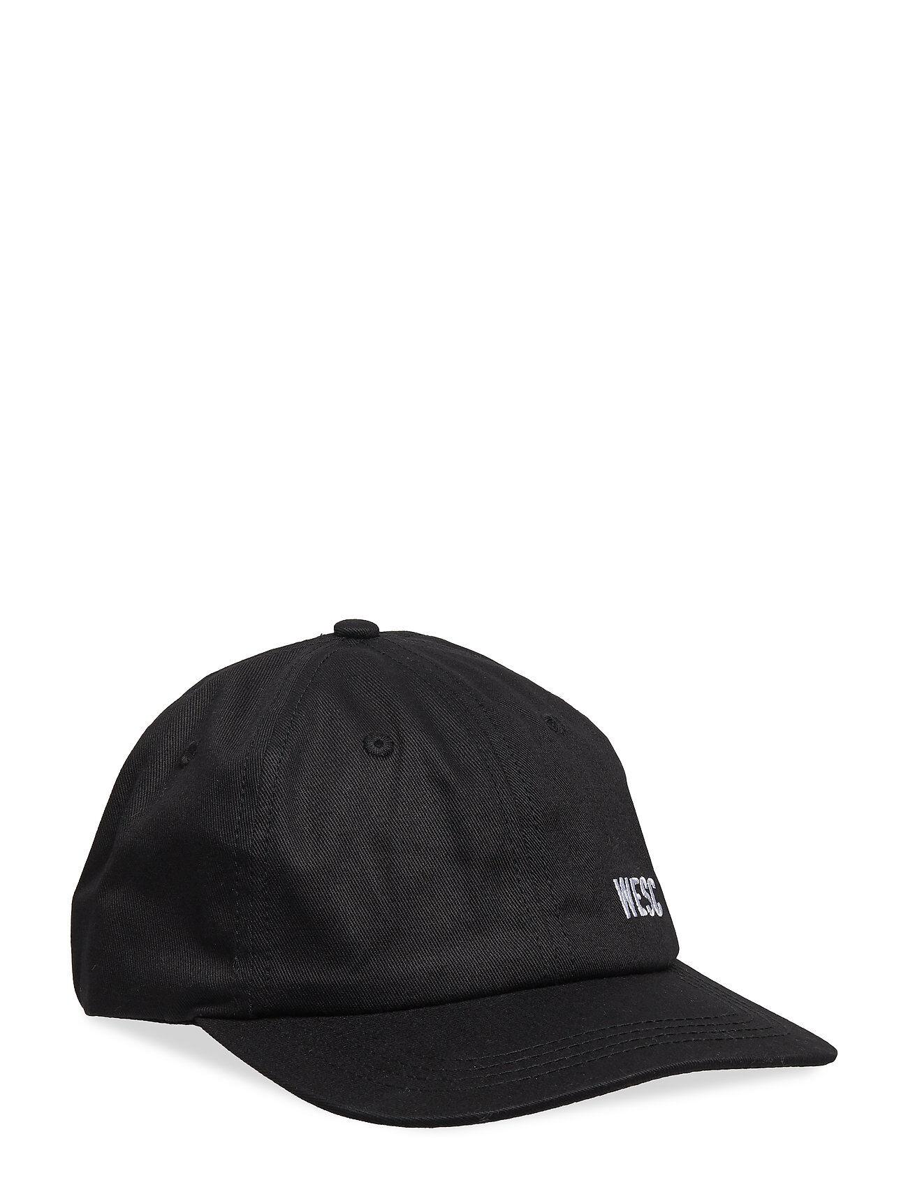 WeSC Hans Tilted Logo Accessories Headwear Caps Musta WeSC