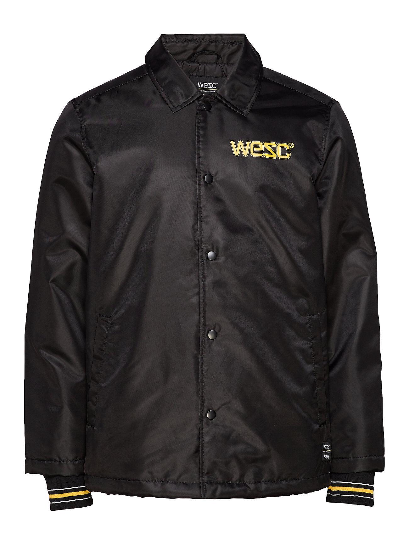 WeSC Cuffed Coach 1999 Jacket Ohut Takki Musta WeSC