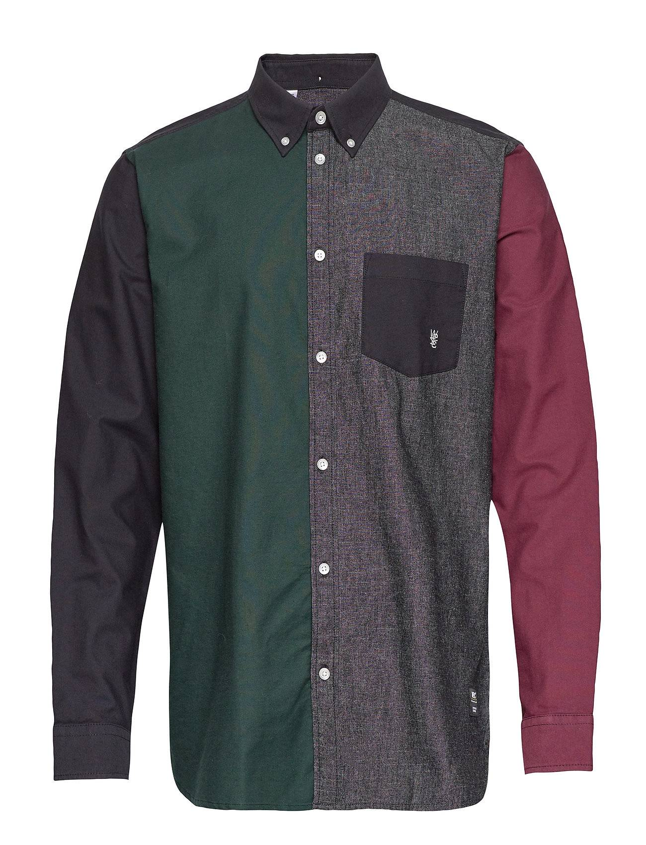 WeSC Oden Shirt Paita Rento Casual Monivärinen/Kuvioitu WeSC