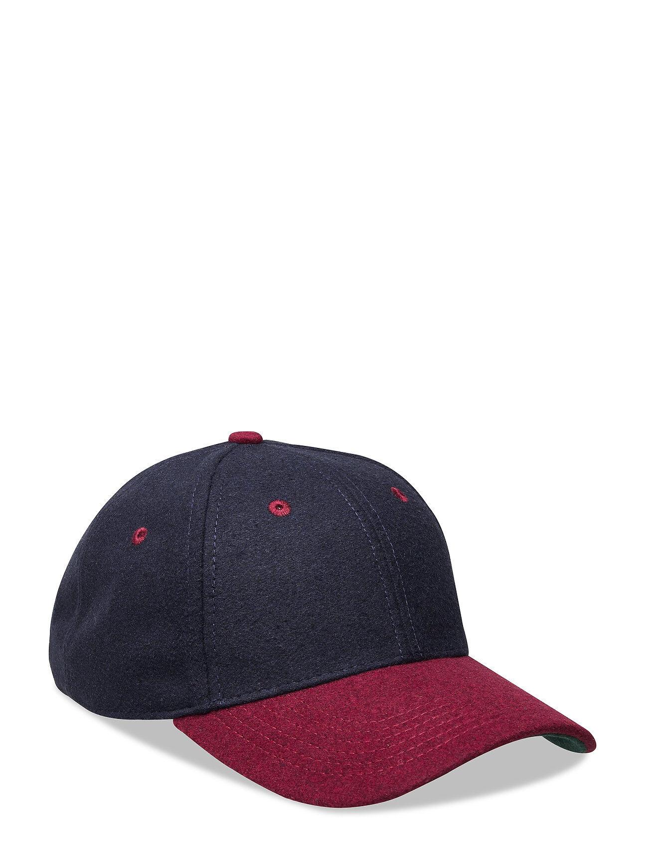 WeSC Bernie Anniversary Snapback Hat Accessories Headwear Caps Sininen WeSC