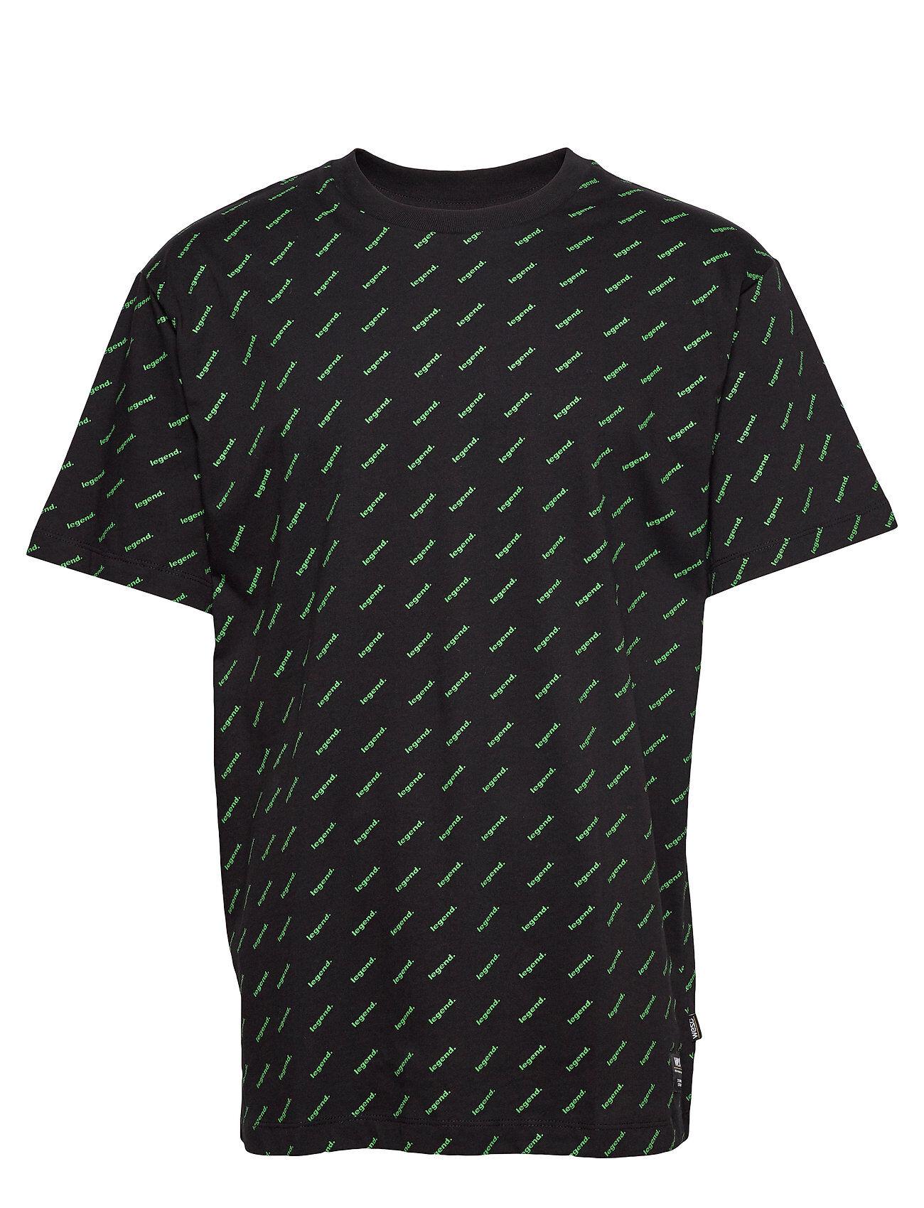 WeSC Mason Legend T-Shirt T-shirts Short-sleeved Vihreä WeSC