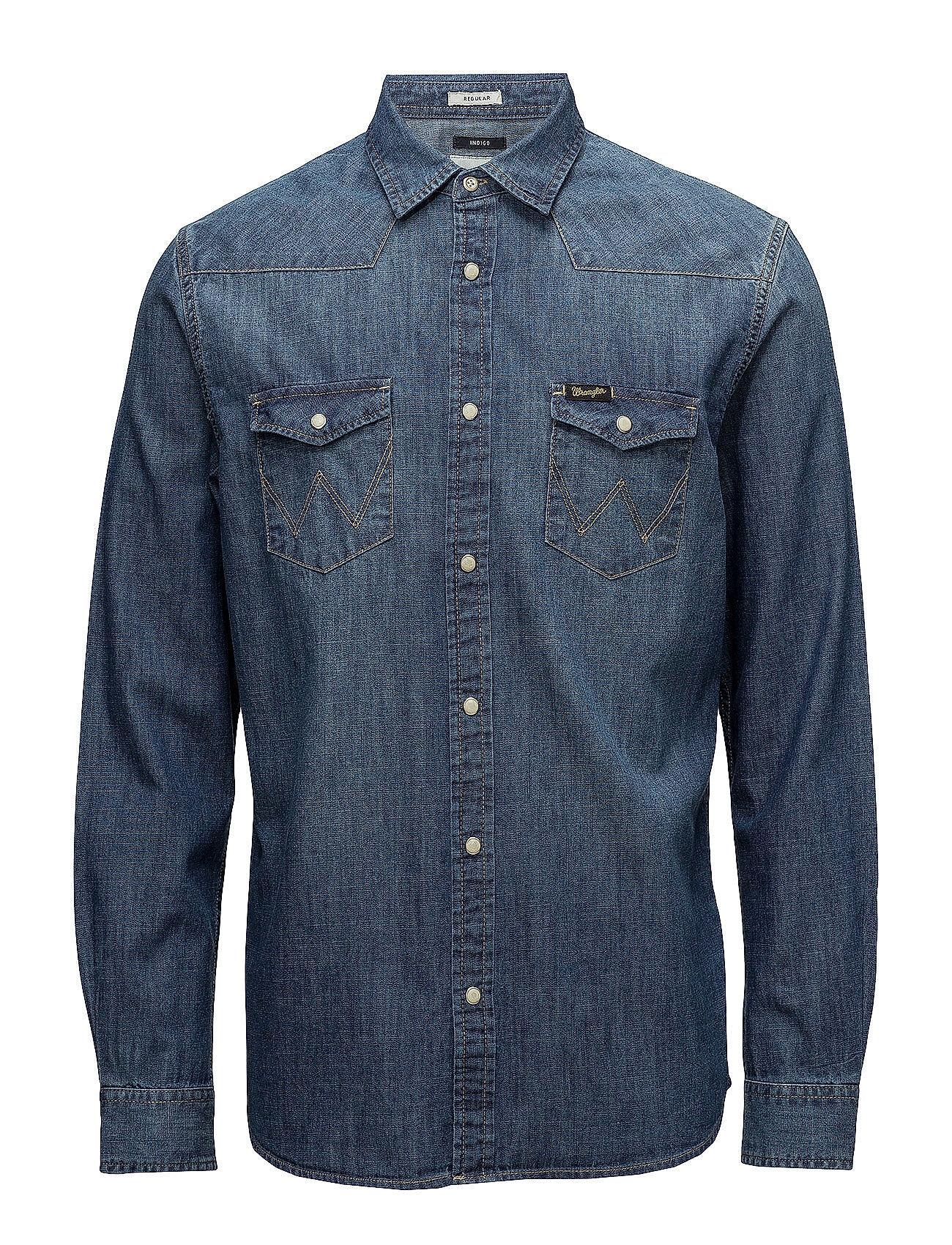 Wrangler Western Denim Shirt