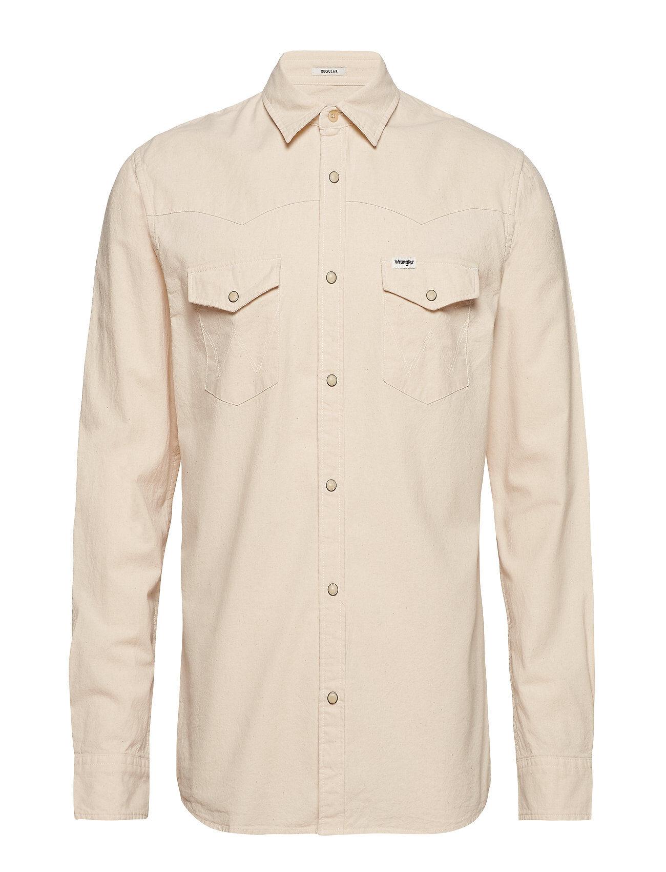 Wrangler Ls Western Shirt