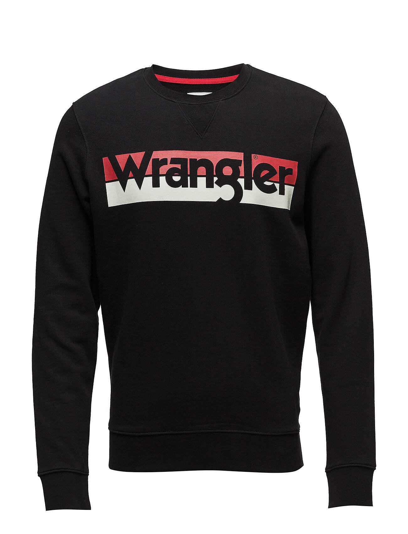 Wrangler Logo Crew