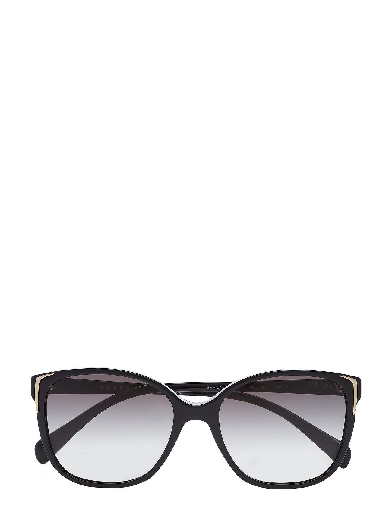 Image of Prada Sunglasses 0pr 01os Wayfarer Aurinkolasit Musta Prada Sunglasses