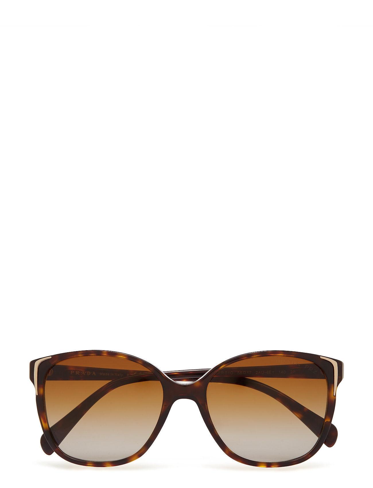 Image of Prada Sunglasses 0pr 01os Wayfarer Aurinkolasit Ruskea Prada Sunglasses