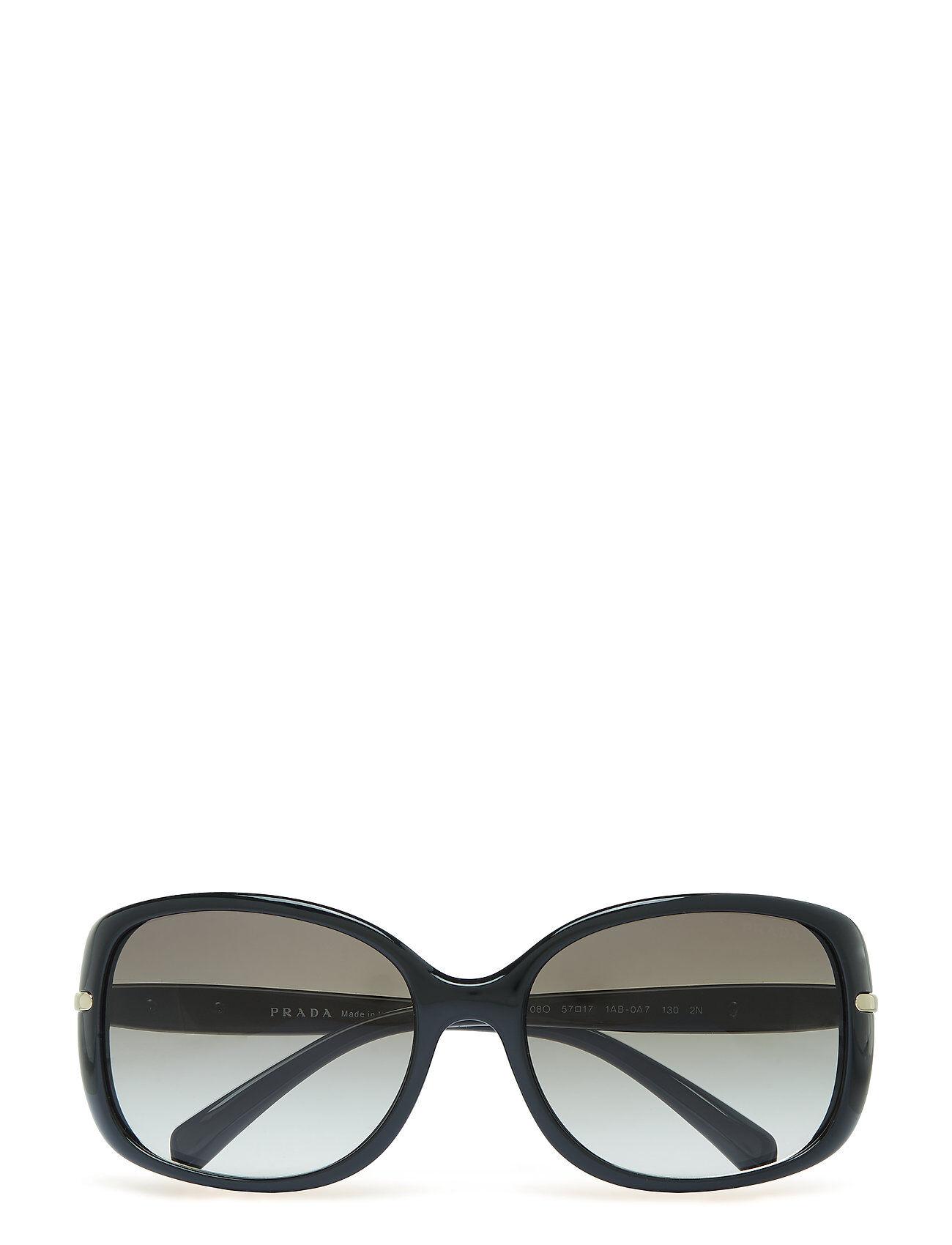 Image of Prada Sunglasses Conceptual   Arrow Wayfarer Aurinkolasit Musta Prada Sunglasses
