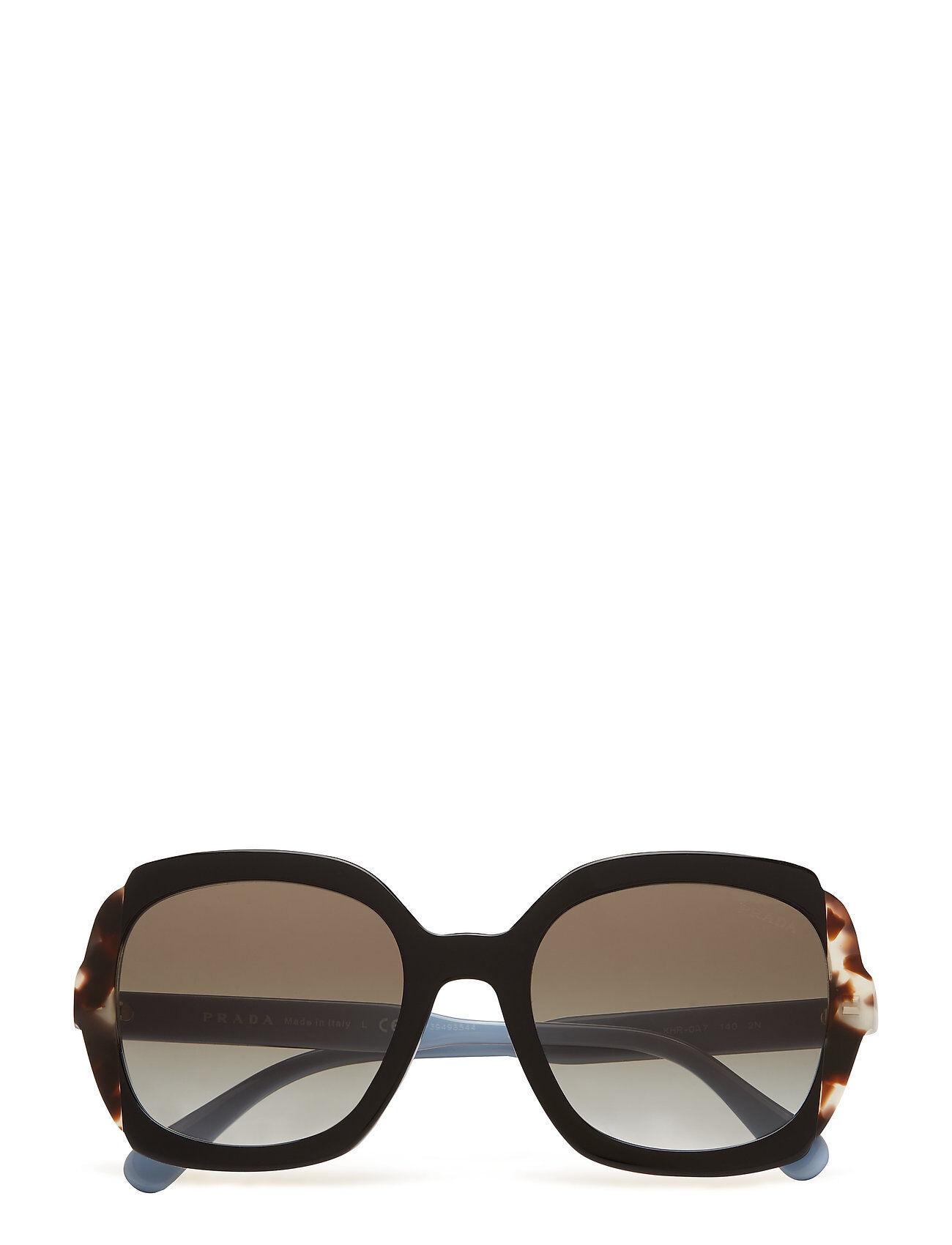Image of Prada Sunglasses 0pr 16us Wayfarer Aurinkolasit Musta Prada Sunglasses