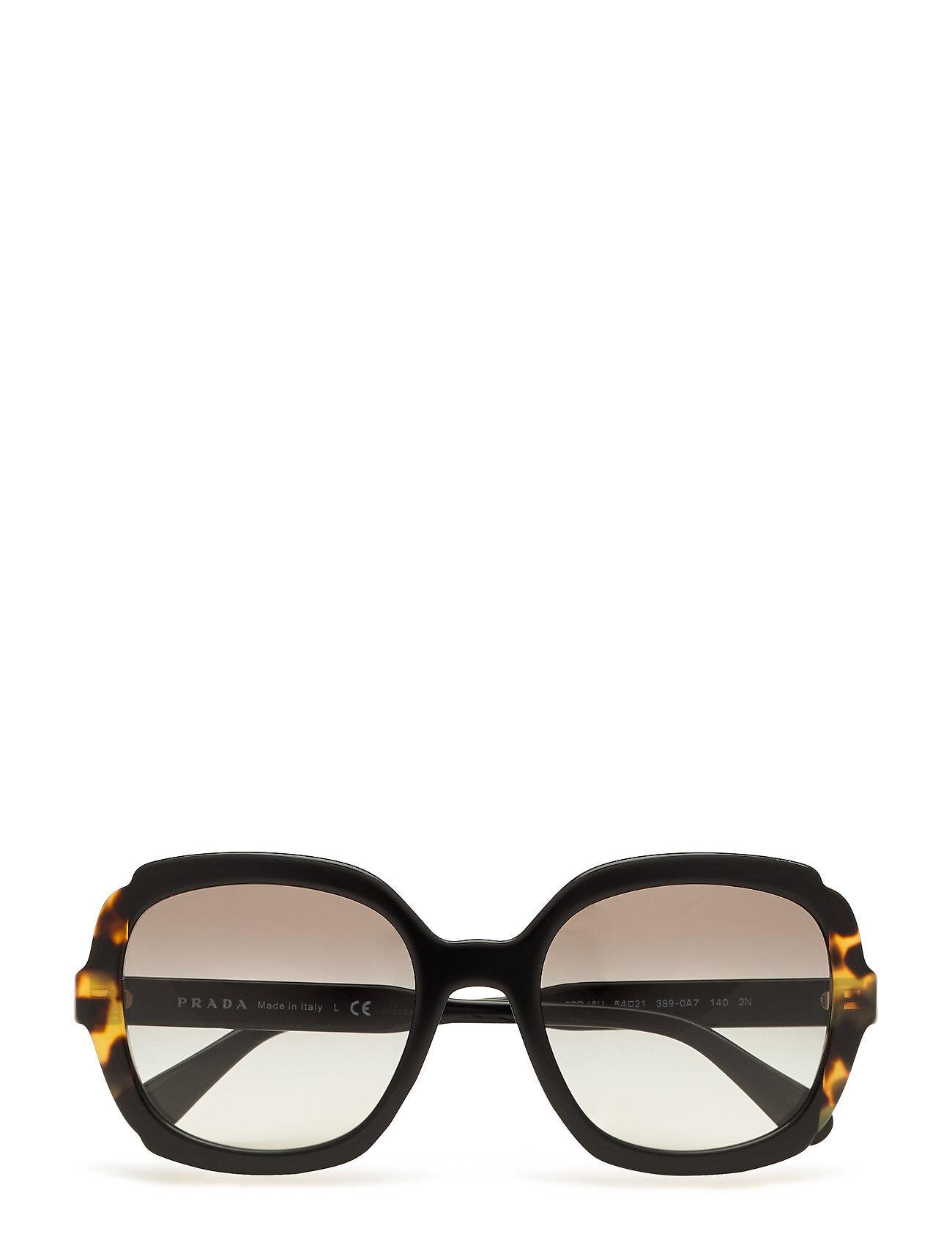 Image of Prada Sunglasses 0pr 16us Wayfarer Aurinkolasit Musta