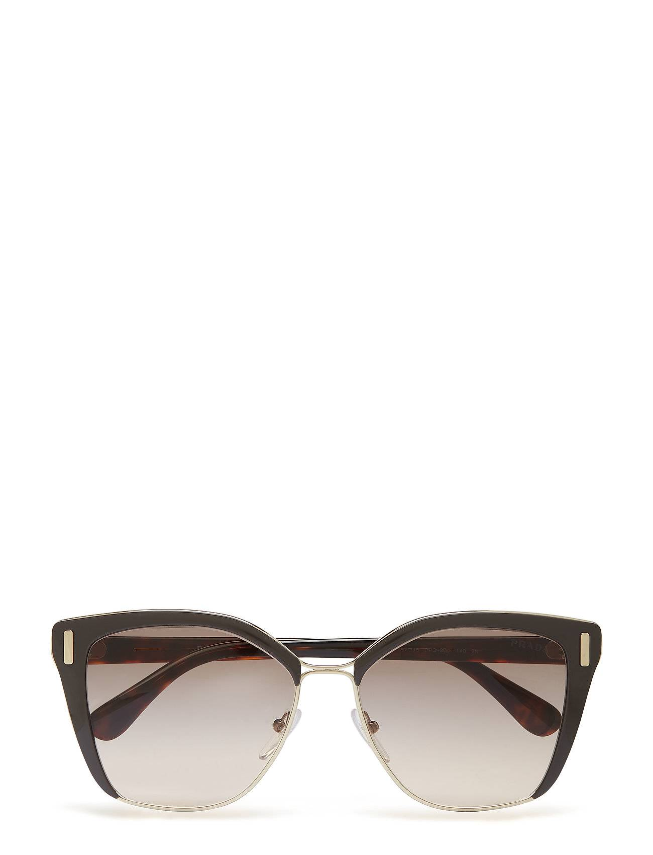 Image of Prada Sunglasses 0pr 56ts Neliönmuotoiset Aurinkolasit Ruskea