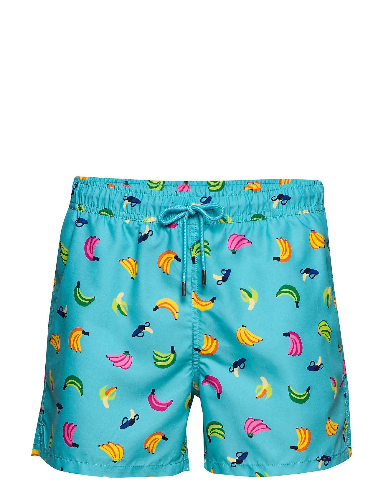 Happy Socks Banana Swim Shorts Uimashortsit Sininen Happy Socks