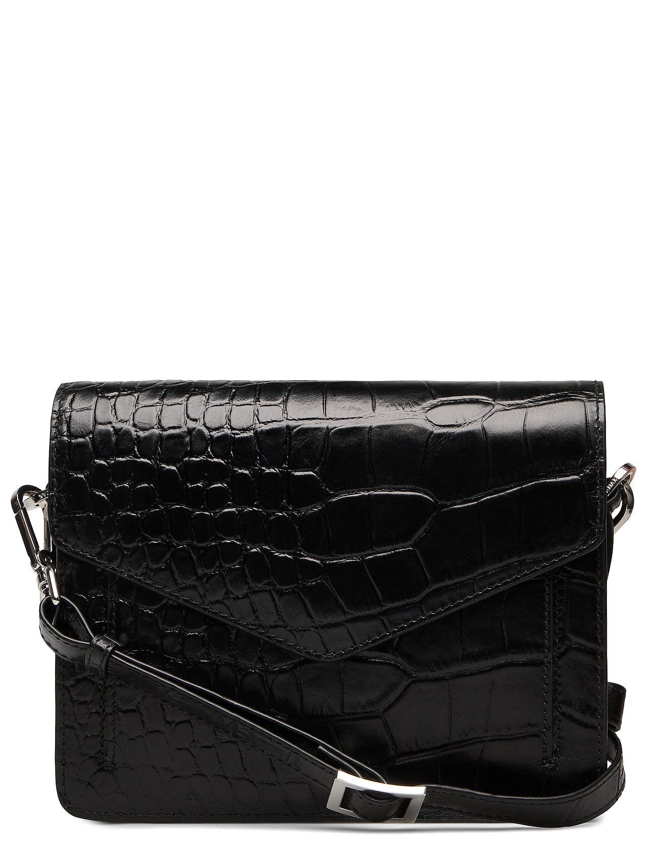 Adax Teramo Shoulder Bag Pearl Bags Small Shoulder Bags - Crossbody Bags Musta Adax
