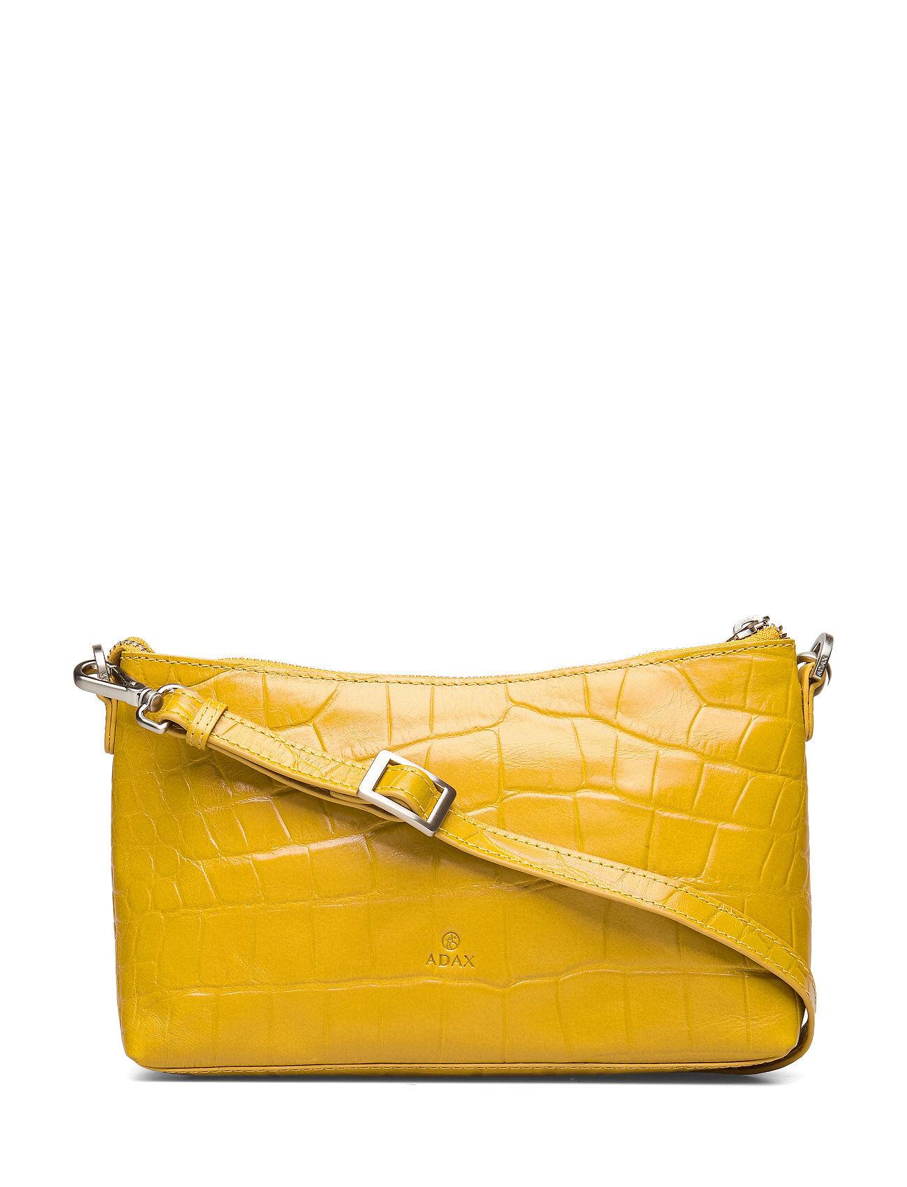 Adax Teramo Shoulder Bag Smilla Bags Small Shoulder Bags - Crossbody Bags Keltainen Adax