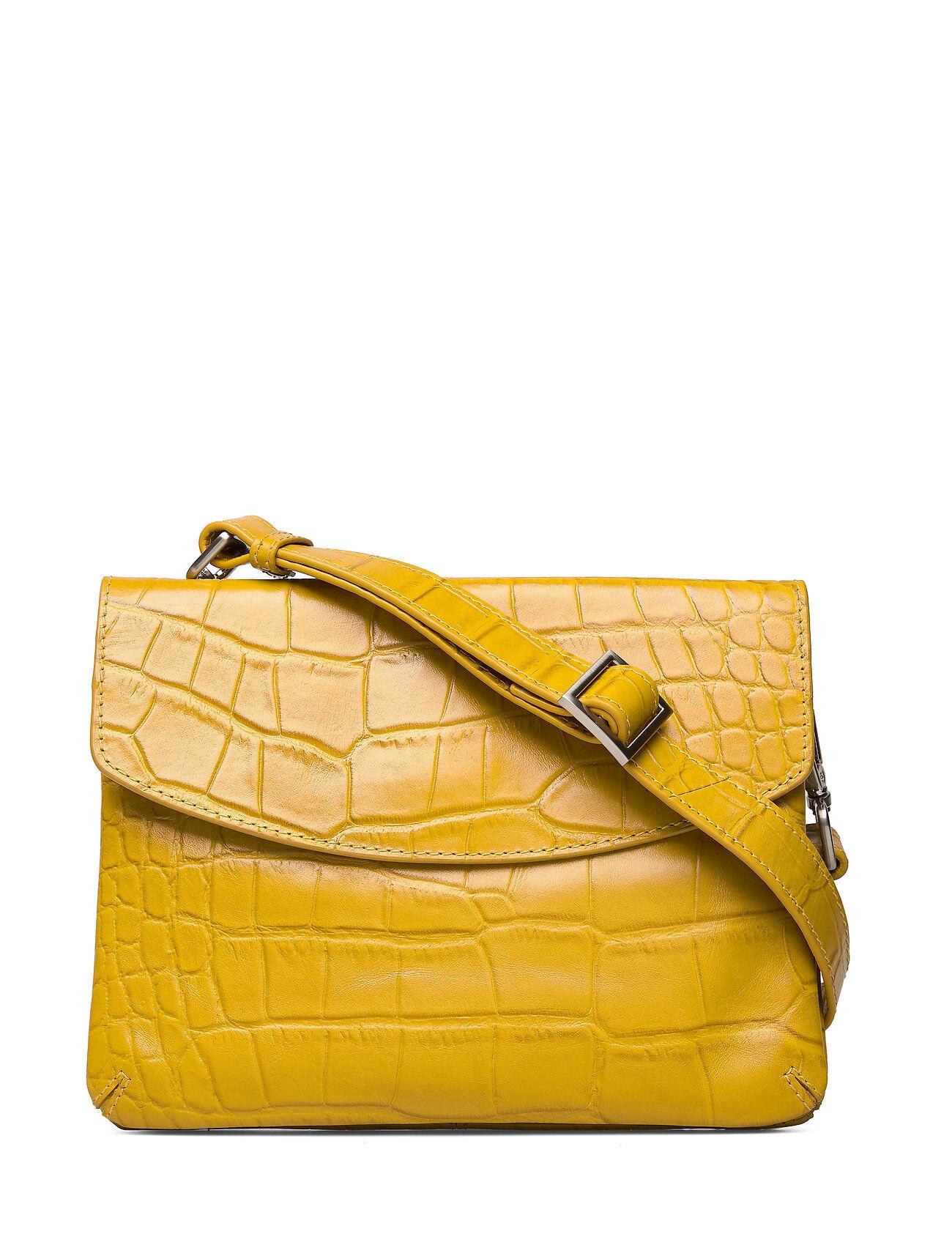 Adax Teramo Shoulder Bag Malou Bags Small Shoulder Bags - Crossbody Bags Keltainen Adax