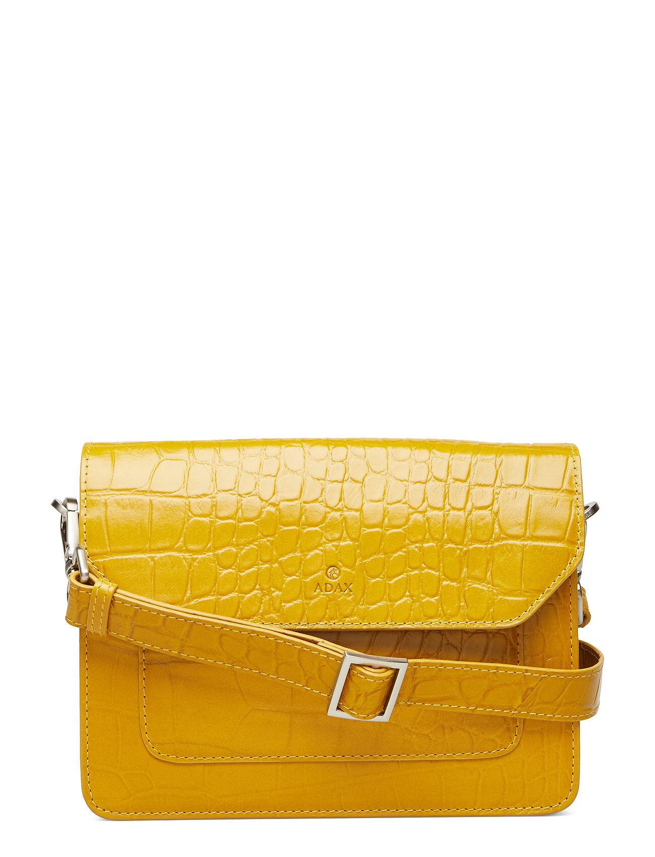 Adax Teramo Shoulder Bag India Bags Small Shoulder Bags - Crossbody Bags Keltainen Adax
