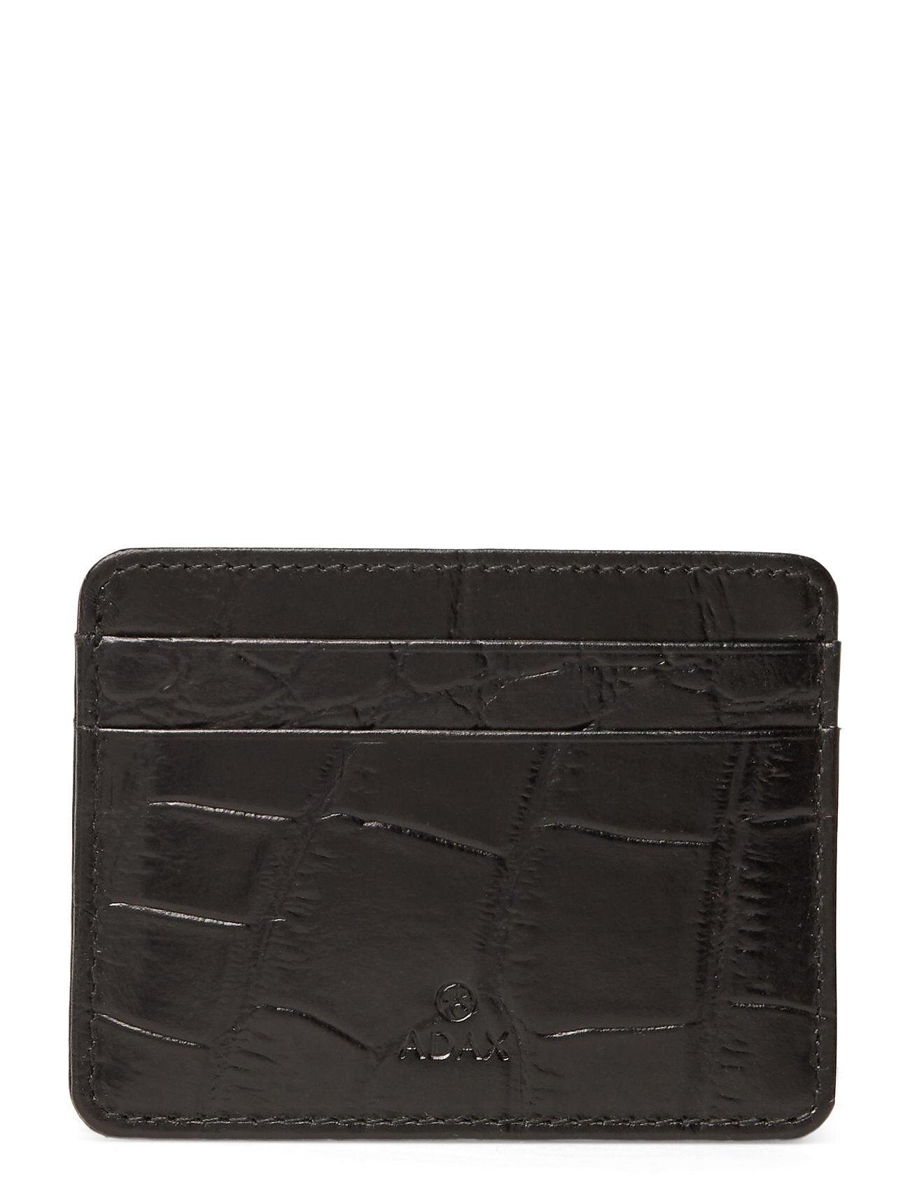 Adax Teramo Card Holder Noel Bags Card Holders & Wallets Card Holder Musta Adax
