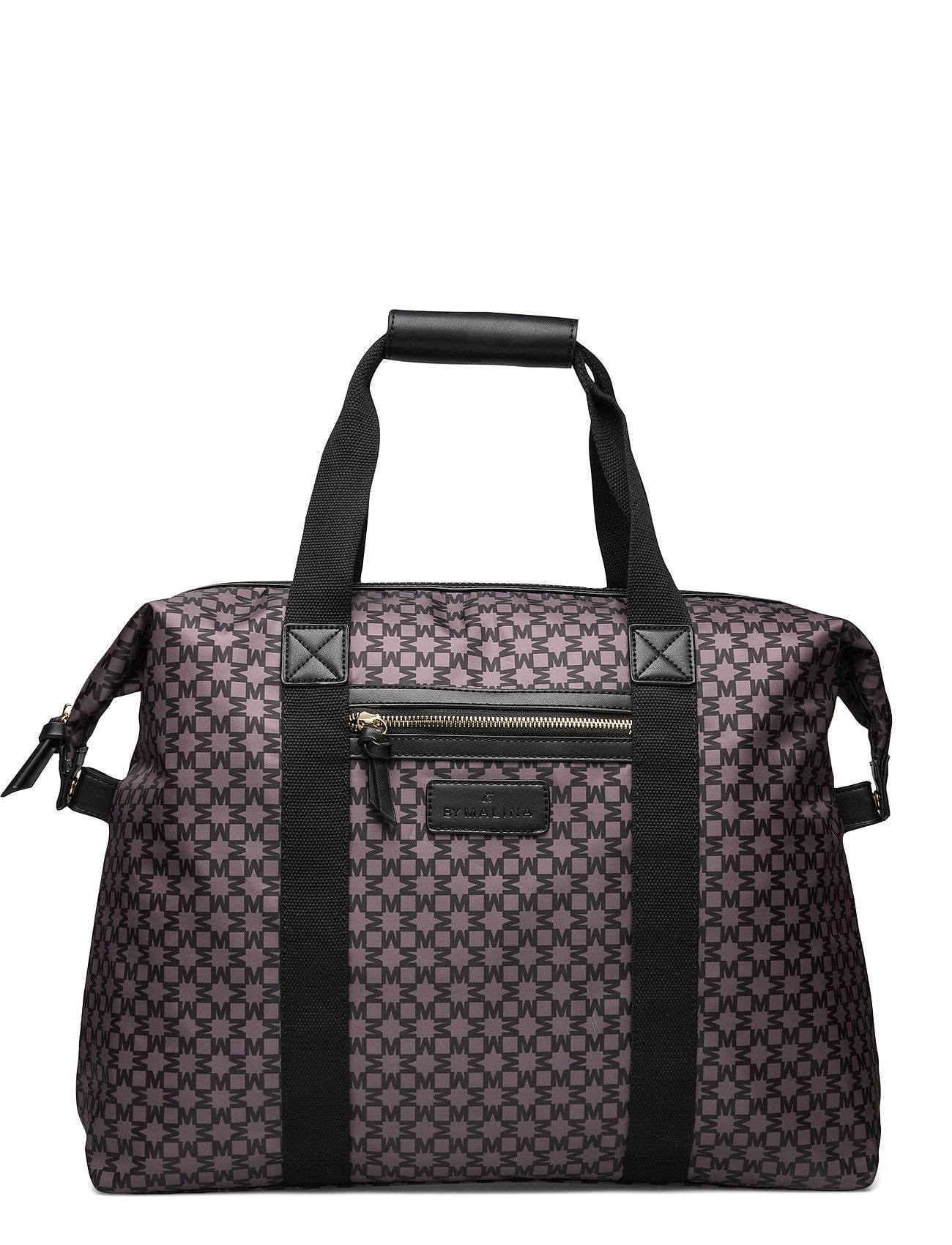 By Malina Travel Bag Bags Weekend & Gym Bags Monivärinen/Kuvioitu By Malina