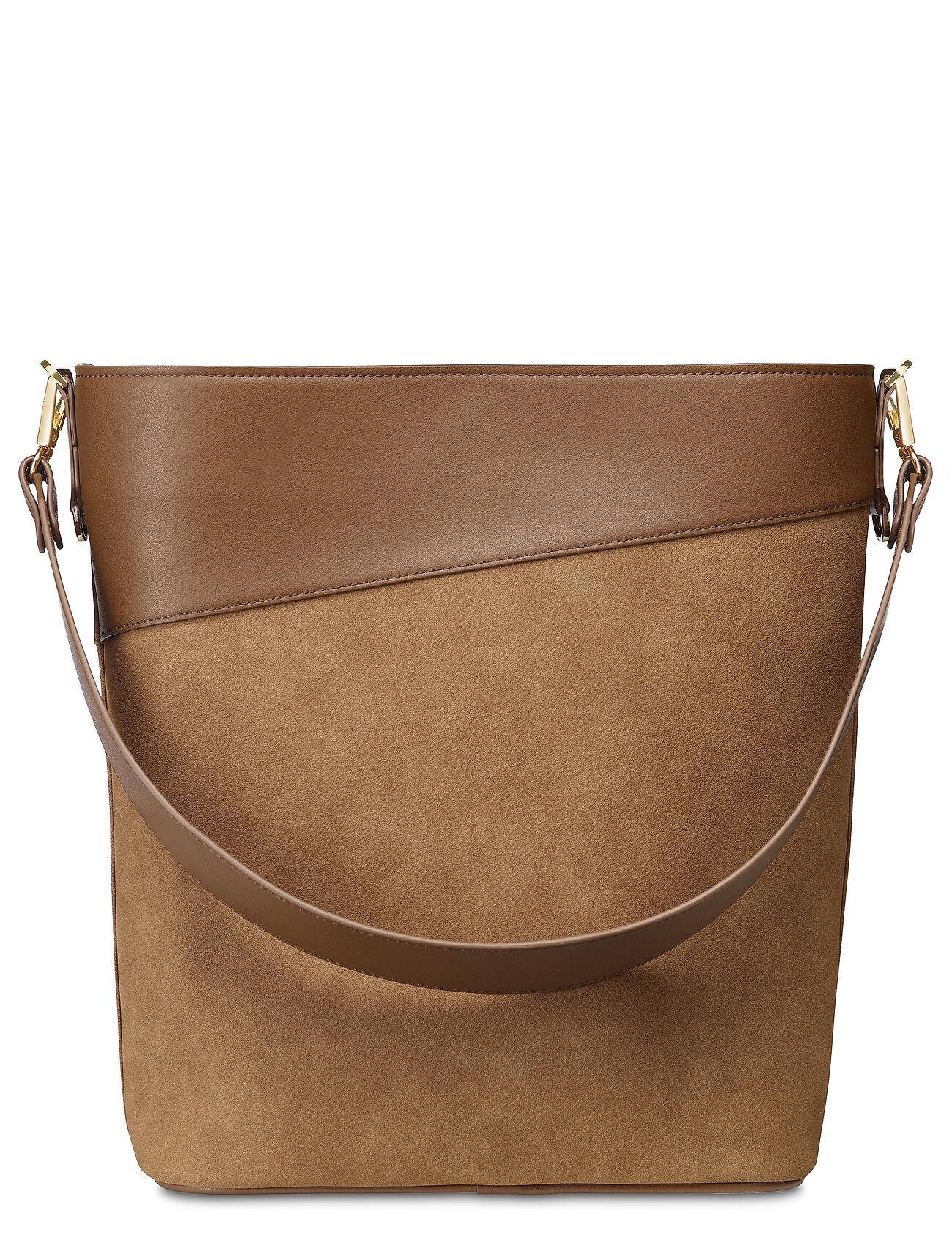 Edblad Drew Bucket Bag Cognac Bags Bucket Bag Ruskea Edblad