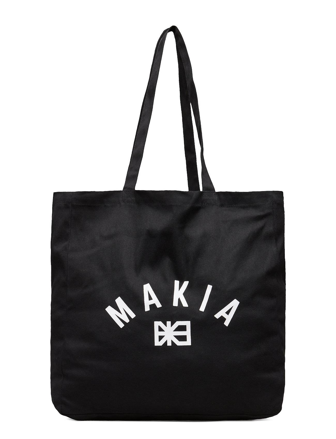 Makia Brand Day Tote Bag Bags Shoppers Casual Shoppers Musta Makia