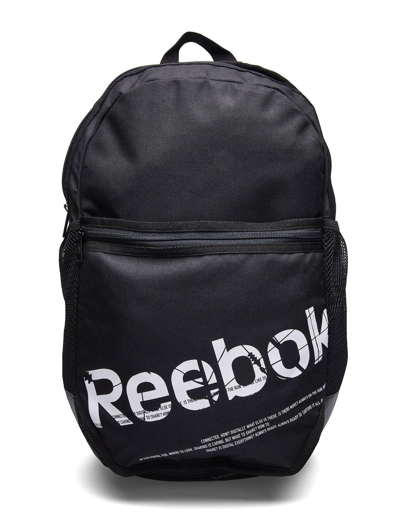 Reebok Performance Wor Active Gr Bp Bags Backpacks Casual Backpacks Musta Reebok Performance