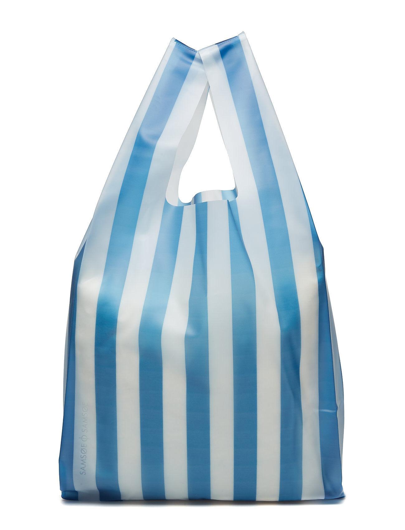 Samsøe & Samsøe Bethel Bag Aop 10560 Bags Shoppers Casual Shoppers Sininen