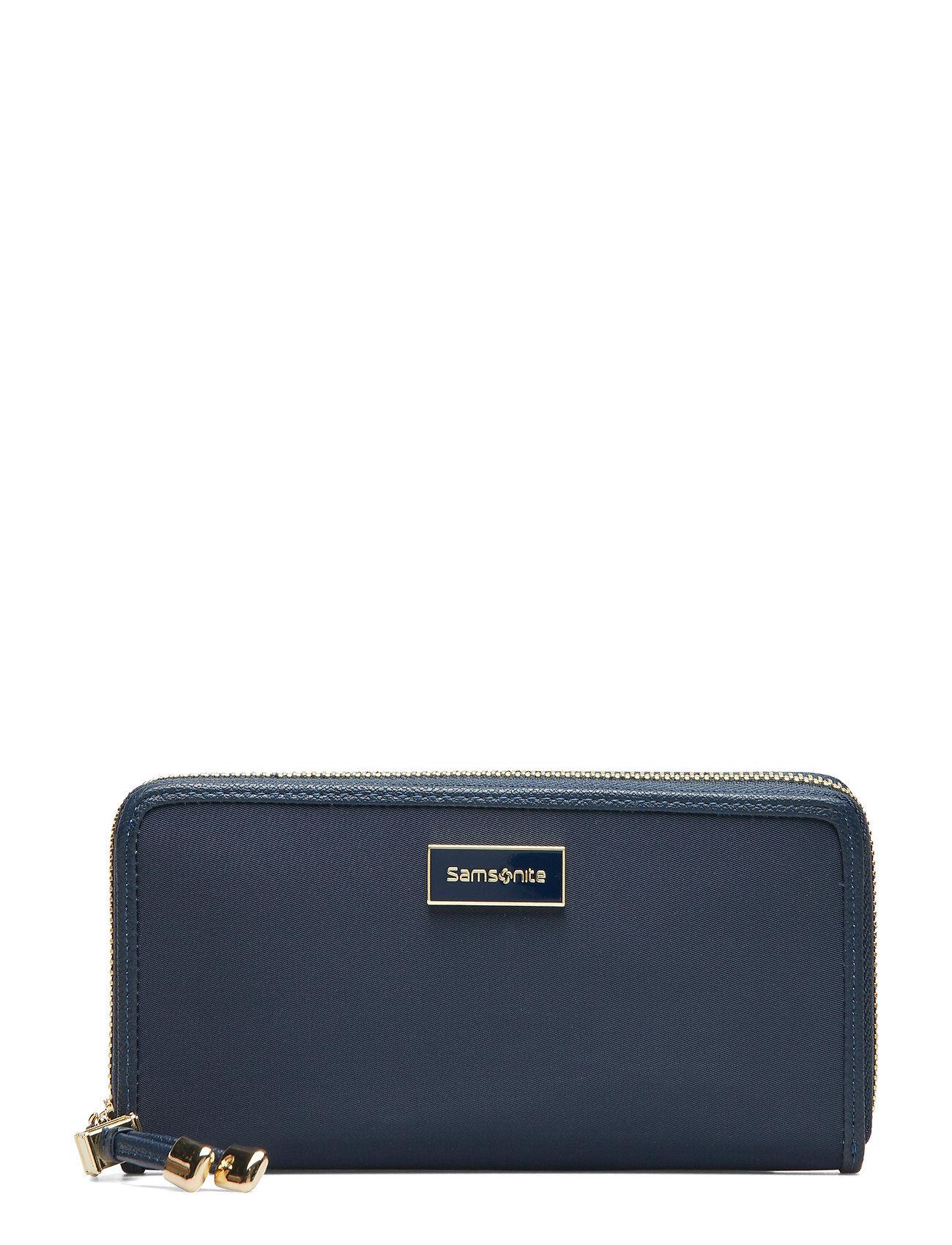 Samsonite Karissa Slg Bags Card Holders & Wallets Wallets Sininen