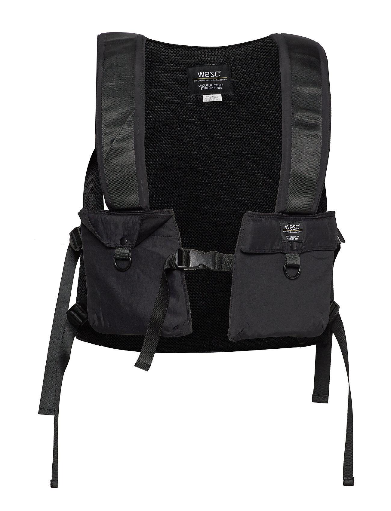 WeSC Utility Harnesspack Reppu Laukku Musta WeSC