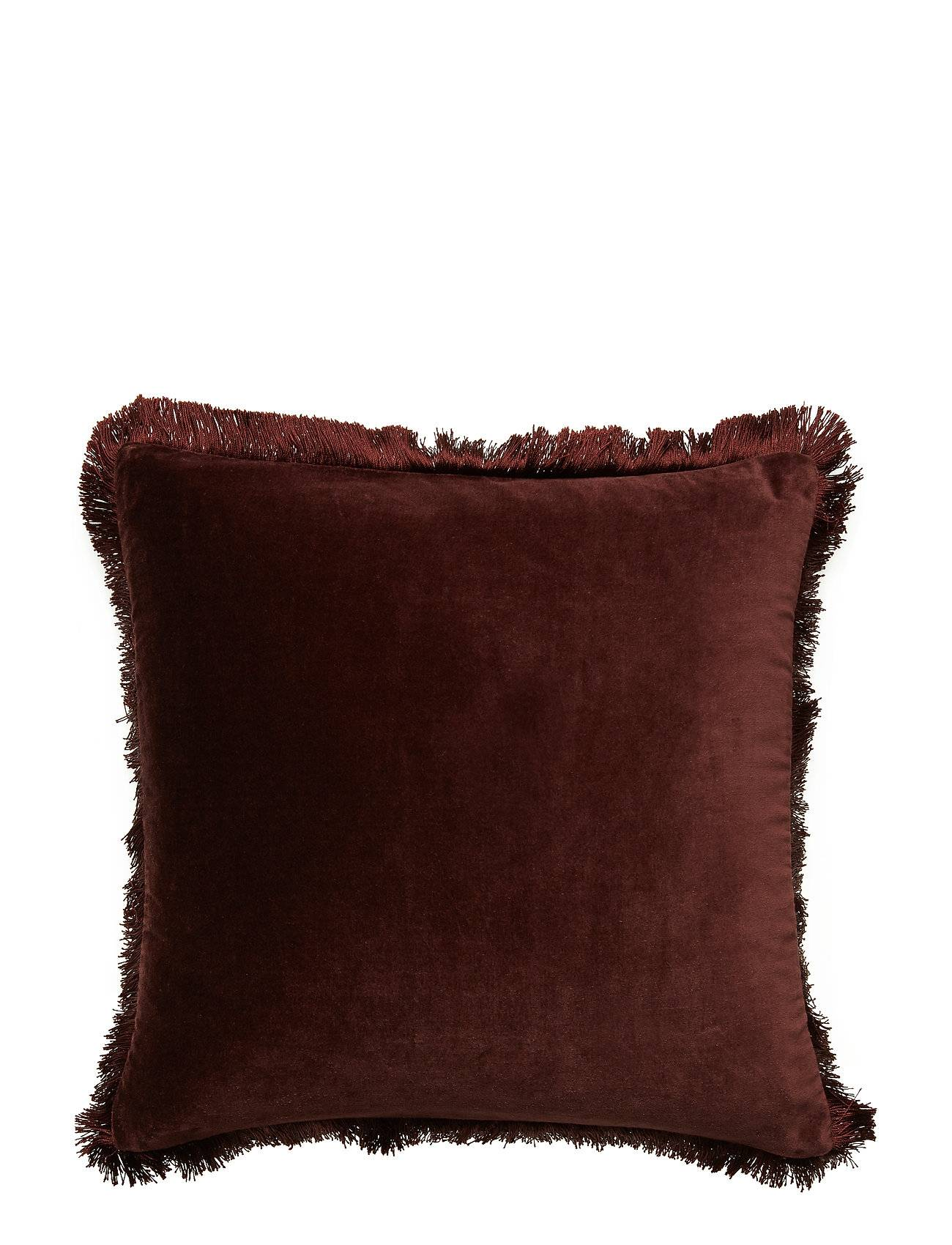 DAY Home Day Classic Velvet Cushion Cover Deep Wine Fringes Pussilakana Punainen DAY Home