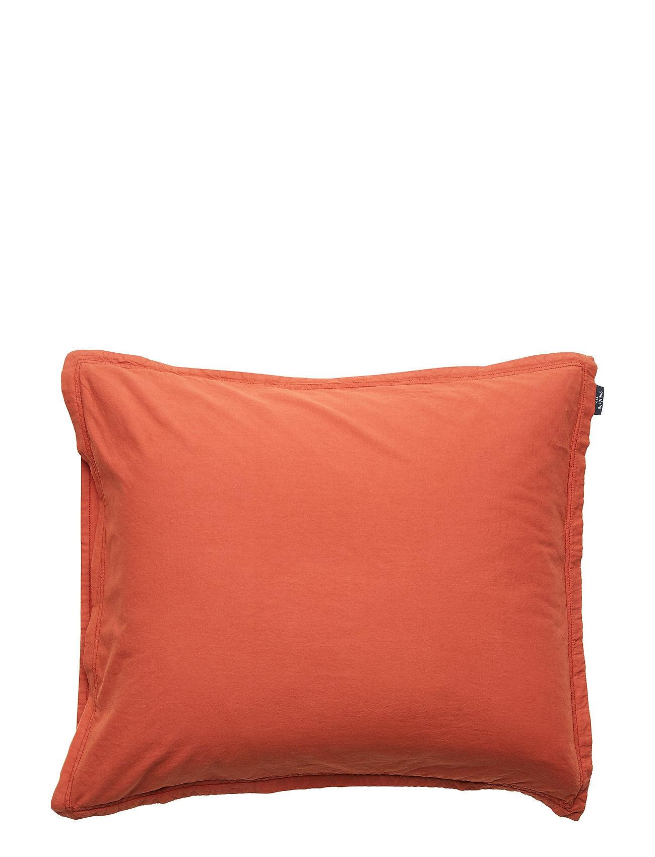 Gripsholm Pillowcase Vintage Gots Pussilakana Oranssi Gripsholm