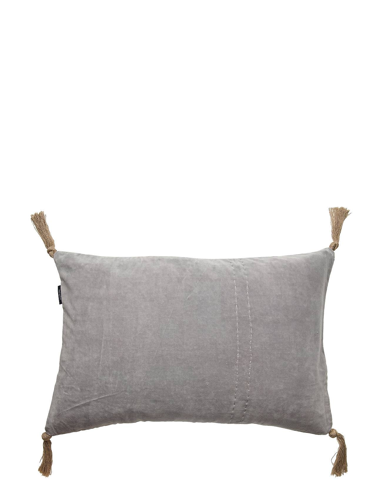 Gripsholm Cushion Cover August Gots Pussilakana Harmaa Gripsholm