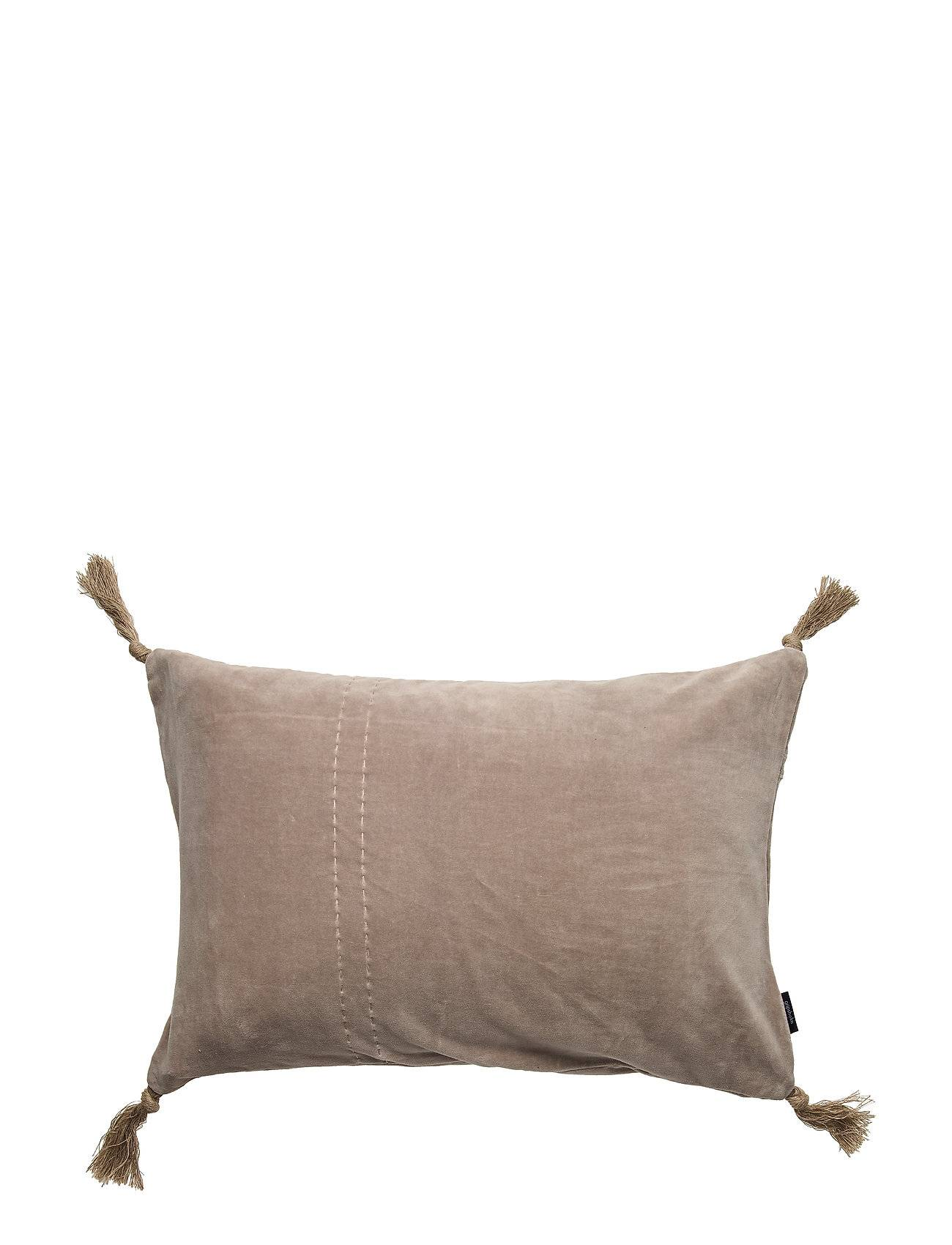 Gripsholm Cushion Cover August Gots Pussilakana Beige Gripsholm