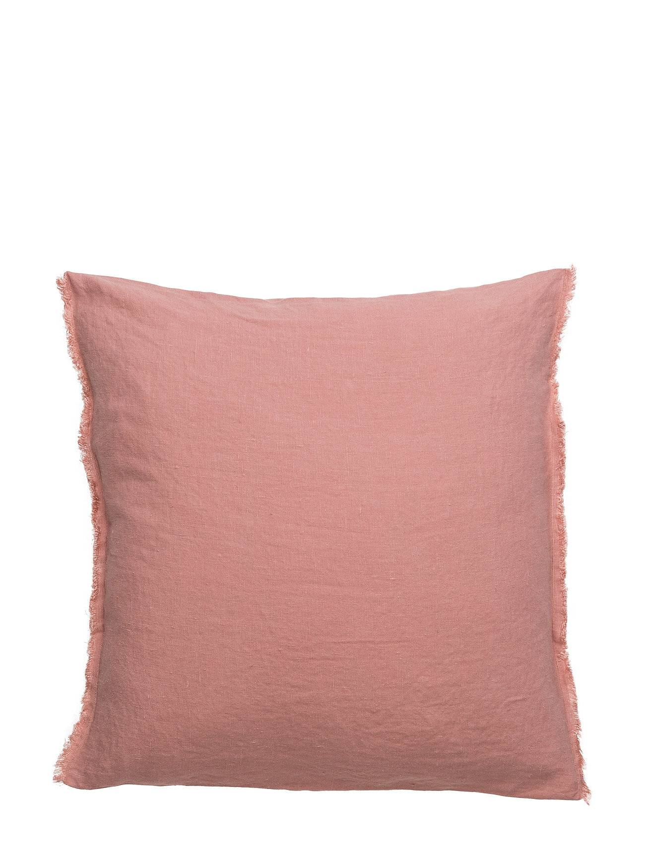 Himla Sunshine Fringe Cushion Home Living Room Cushion Vaaleanpunainen Himla