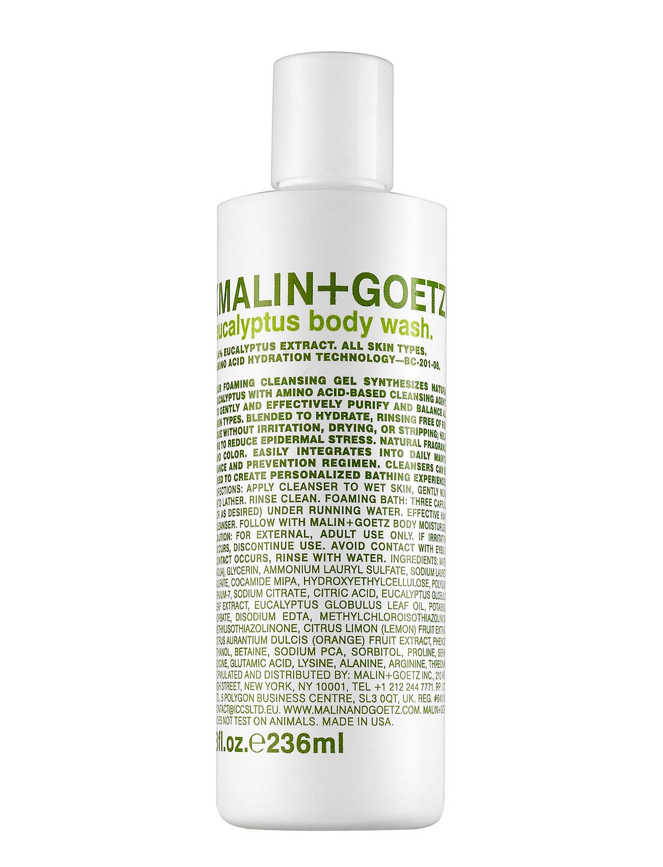 Malin+Goetz Eucalyptus Body Wash Beauty MEN Skin Care Body Shower Gel Nude Malin+Goetz