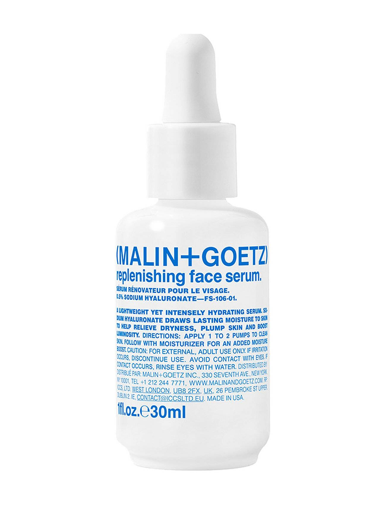 Malin+Goetz Replenishing Face Serum Seerumi Ihonhoito Nude Malin+Goetz