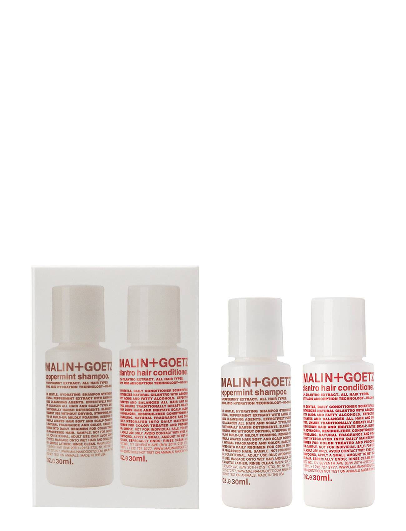 Malin+Goetz Hair Essentials Duo Beauty MEN ALL SETS Nude Malin+Goetz