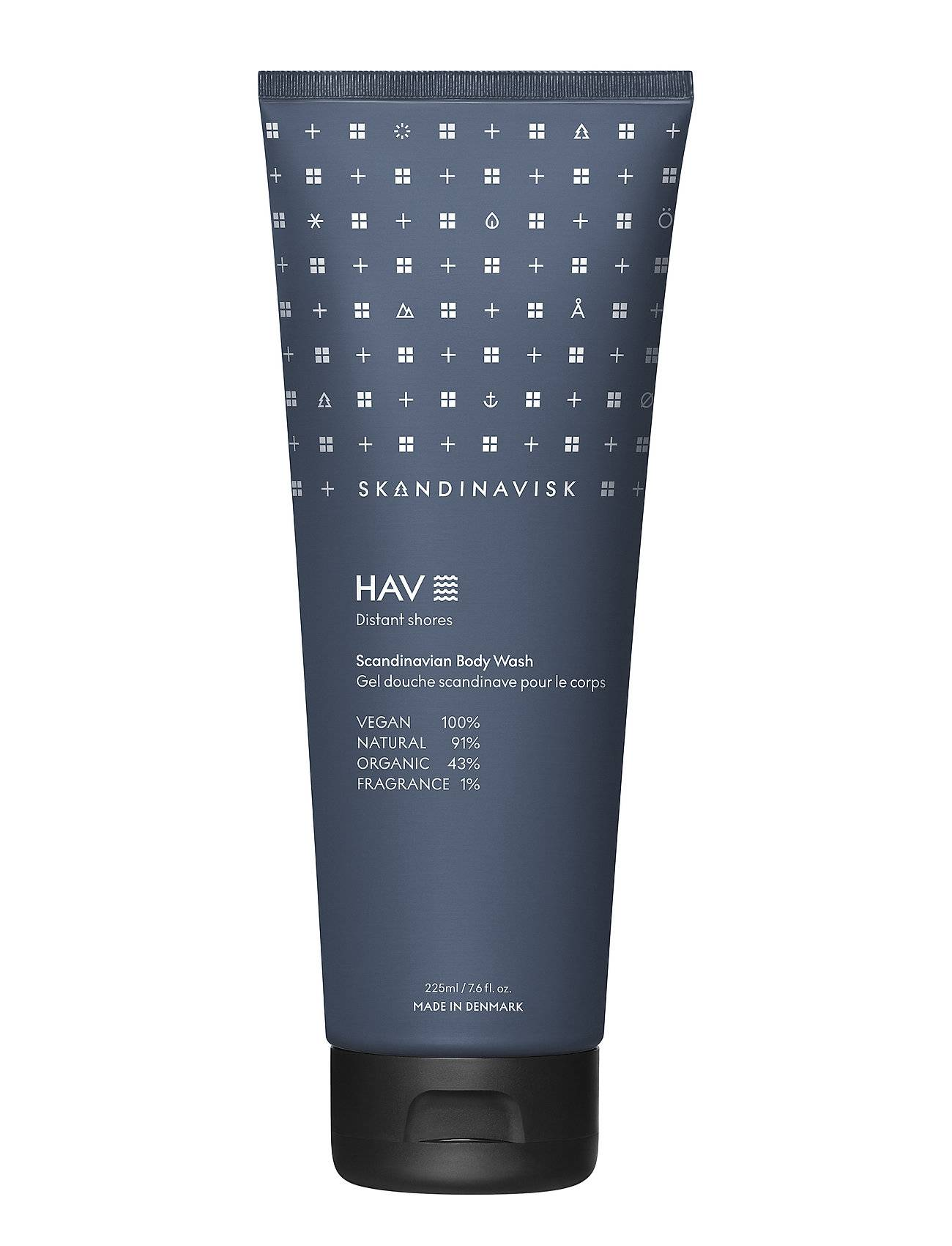 Skandinavisk ØY Body Wash 225ml Beauty MEN Skin Care Body Shower Gel Nude Skandinavisk