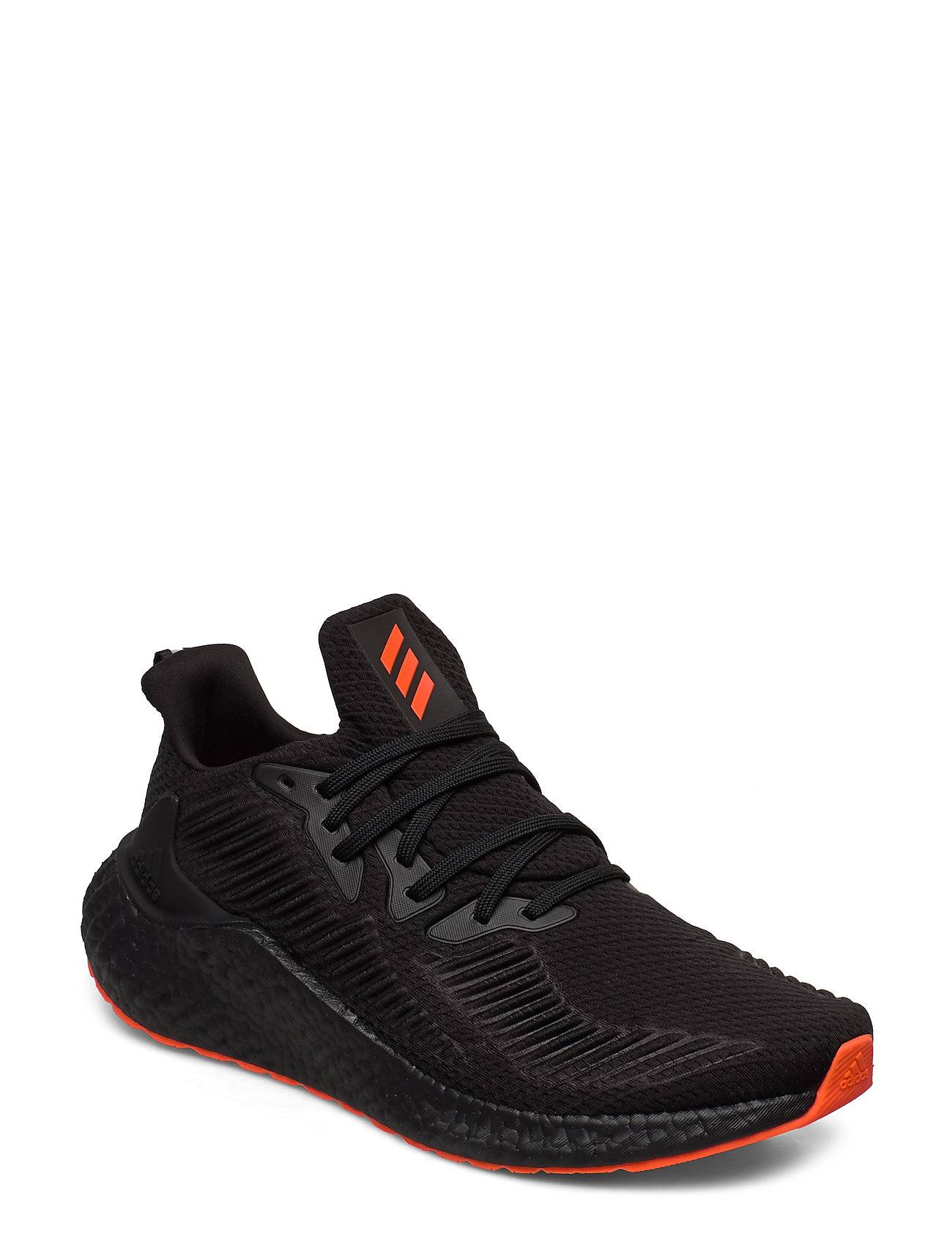 adidas Performance Alphaboost Shoes Sport Shoes Running Shoes Musta Adidas Performance