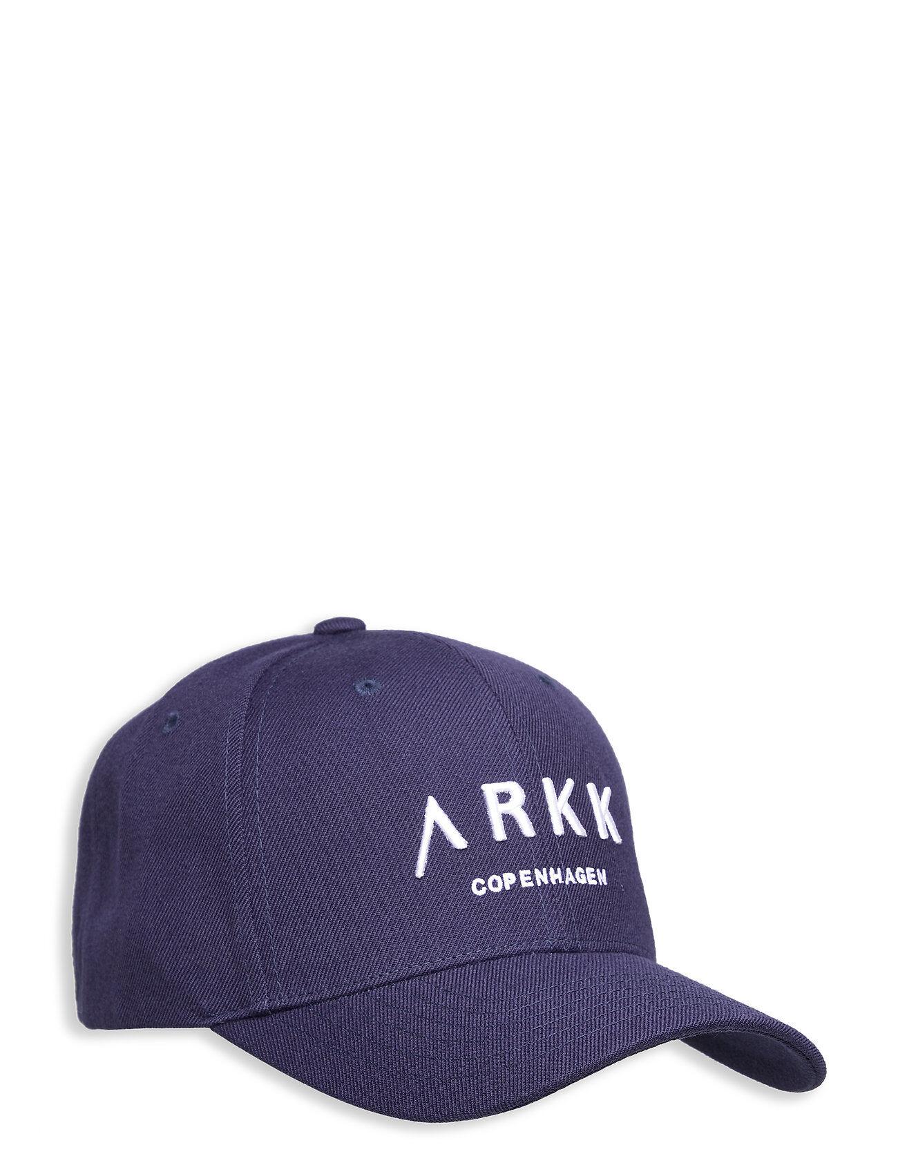 ARKK Copenhagen Baseball Cap Navy Accessories Headwear Caps Sininen ARKK Copenhagen