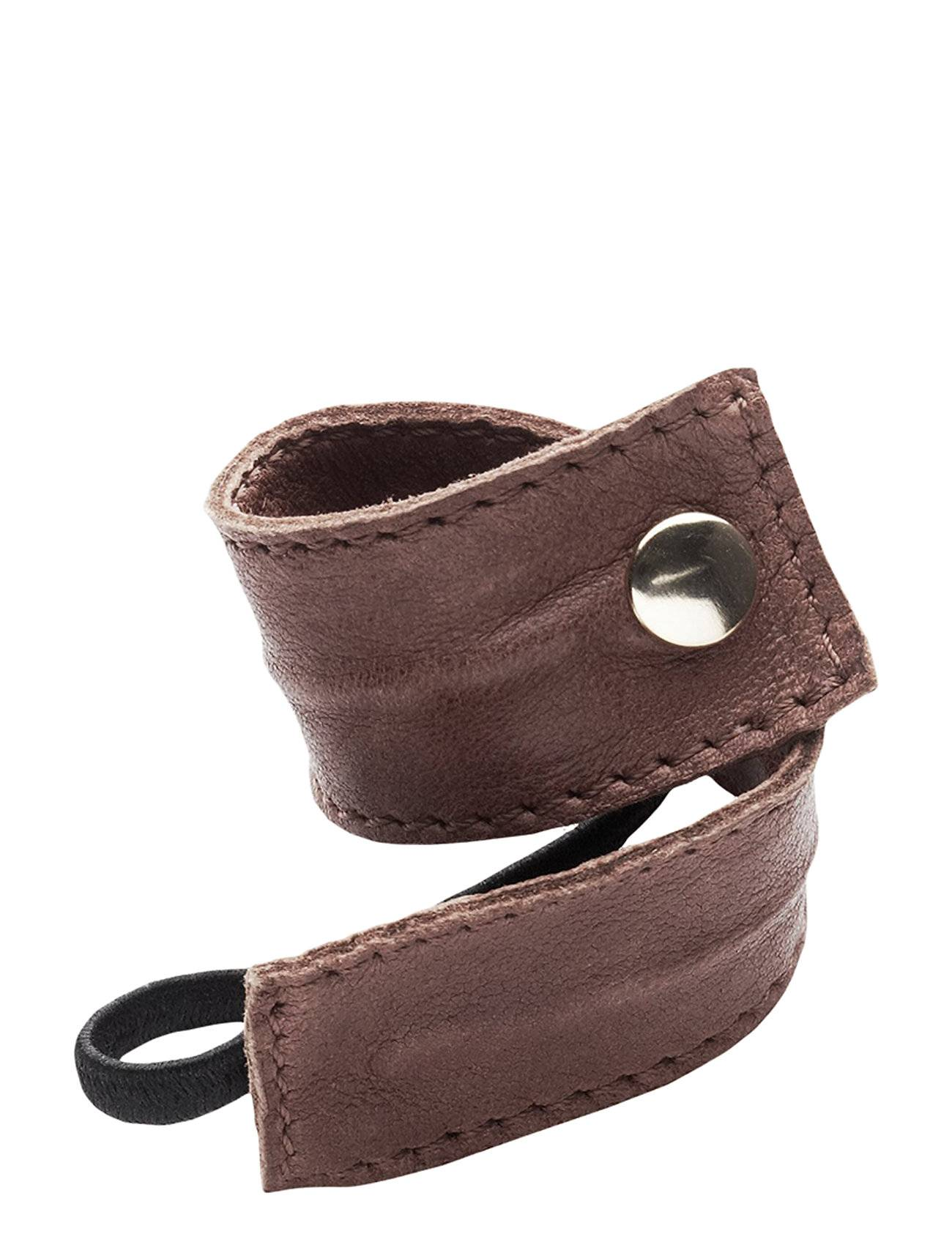 Image of Corinne Leather Band Short Bendable Beauty WOMEN Hair Accessories Hair Accessories Ruskea Corinne