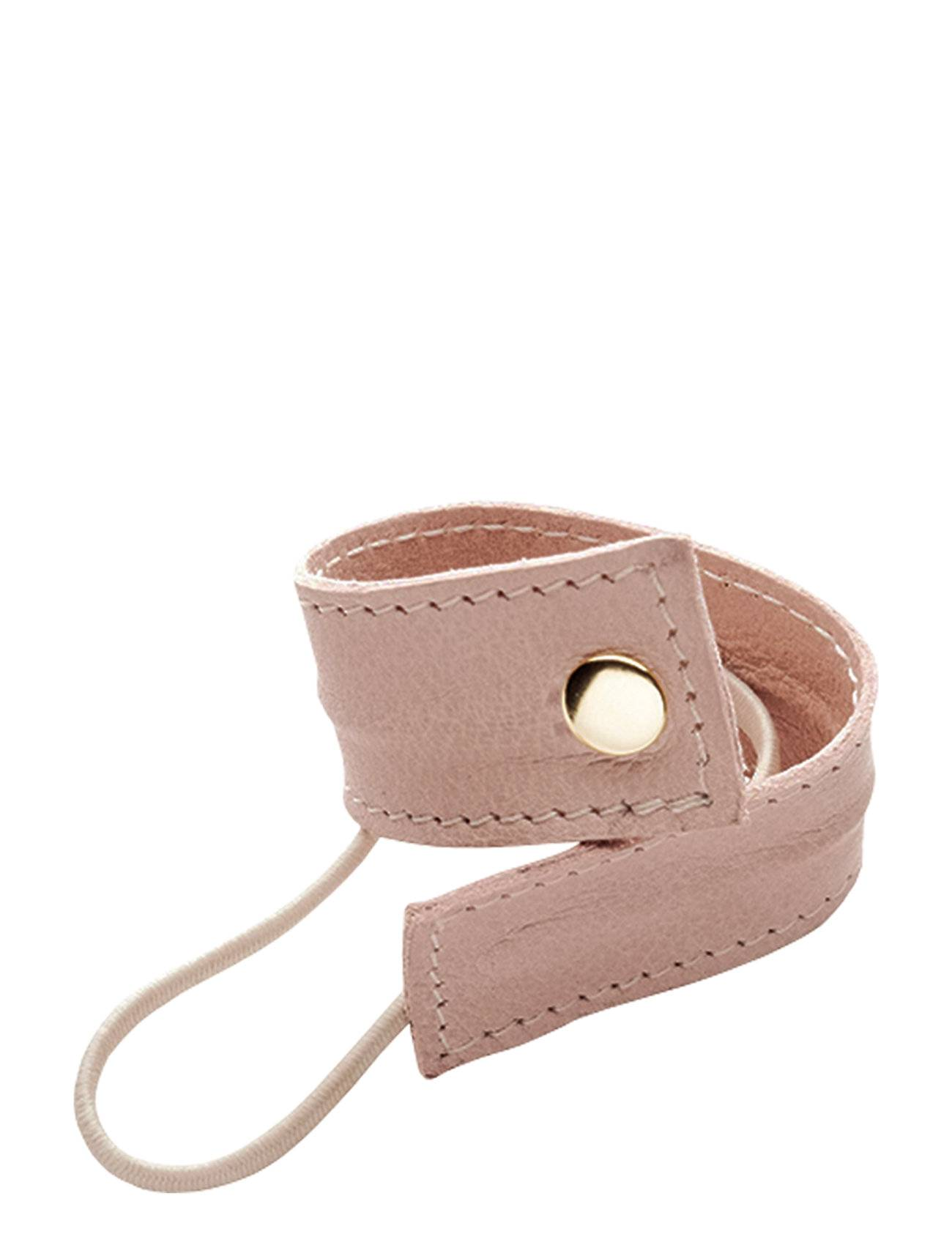 Image of Corinne Leather Band Short Bendable Beauty WOMEN Hair Accessories Hair Accessories Vaaleanpunainen Corinne