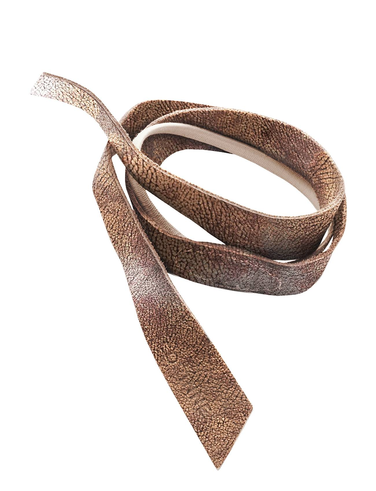 Image of Corinne Leather Band Short Layer Beauty WOMEN Hair Accessories Hair Accessories Harmaa Corinne