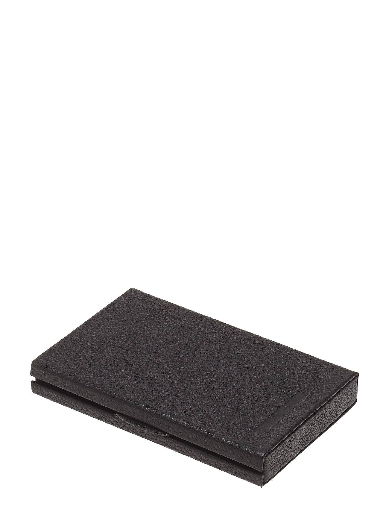 Design Letters Personal Card Holder Kodin Sisustus Musta Design Letters