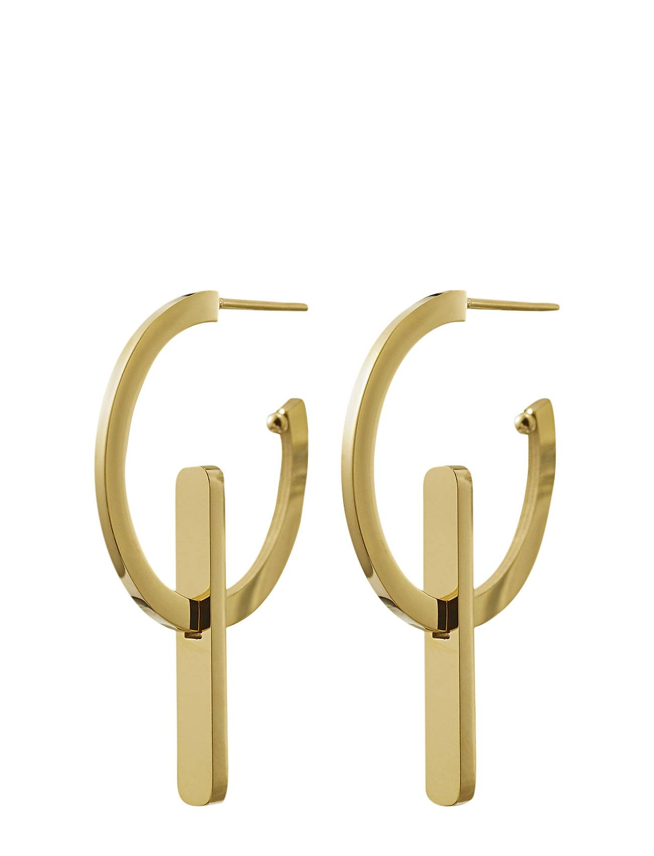 Edblad Power Earrings Creole Gold Korvakoru Korut Kulta Edblad